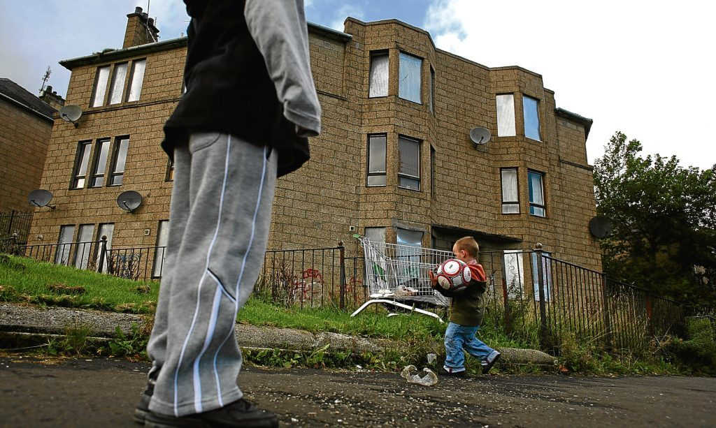 The report found 4,273 children are living in poverty in Angus