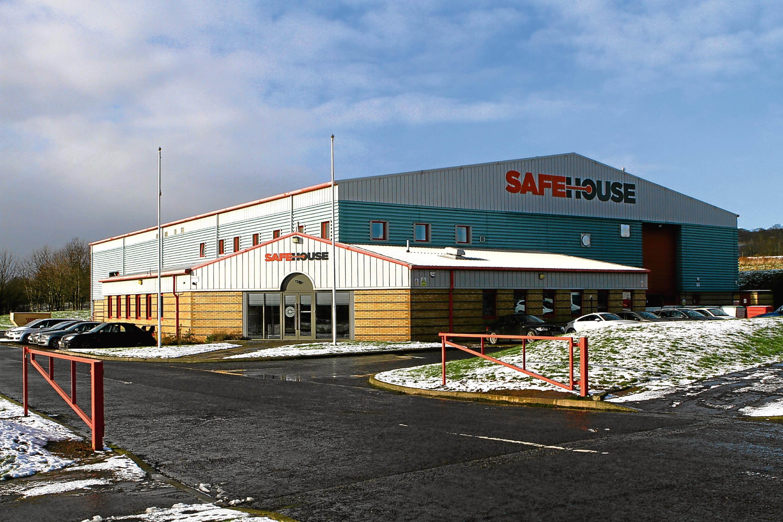 The premises of Safehouse Habitats at Claverhouse Industrial Estate.