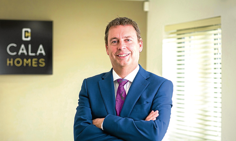 Alan Brown, chief executive of Cala