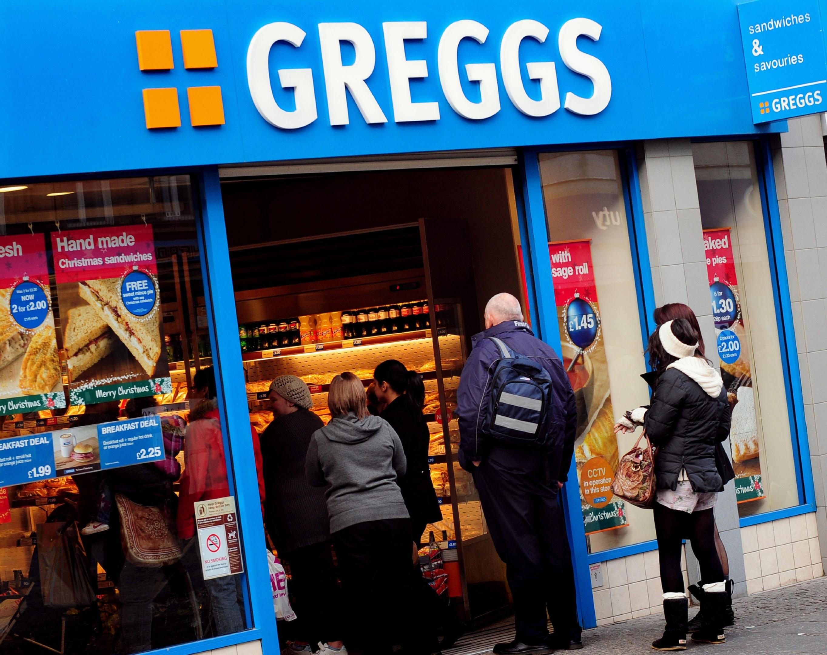 A Greggs branch.
