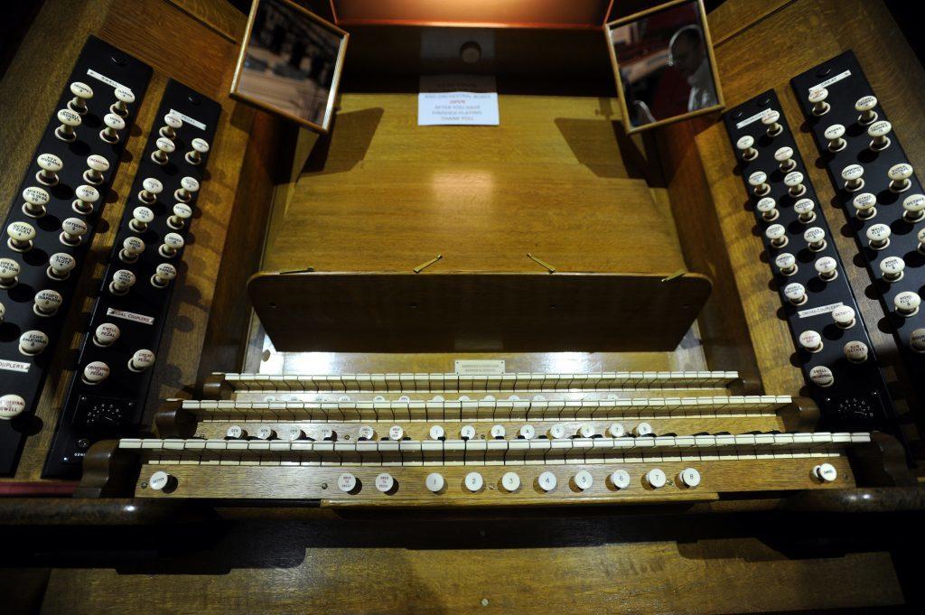 The Caird Hall organ - a magnificent beast.