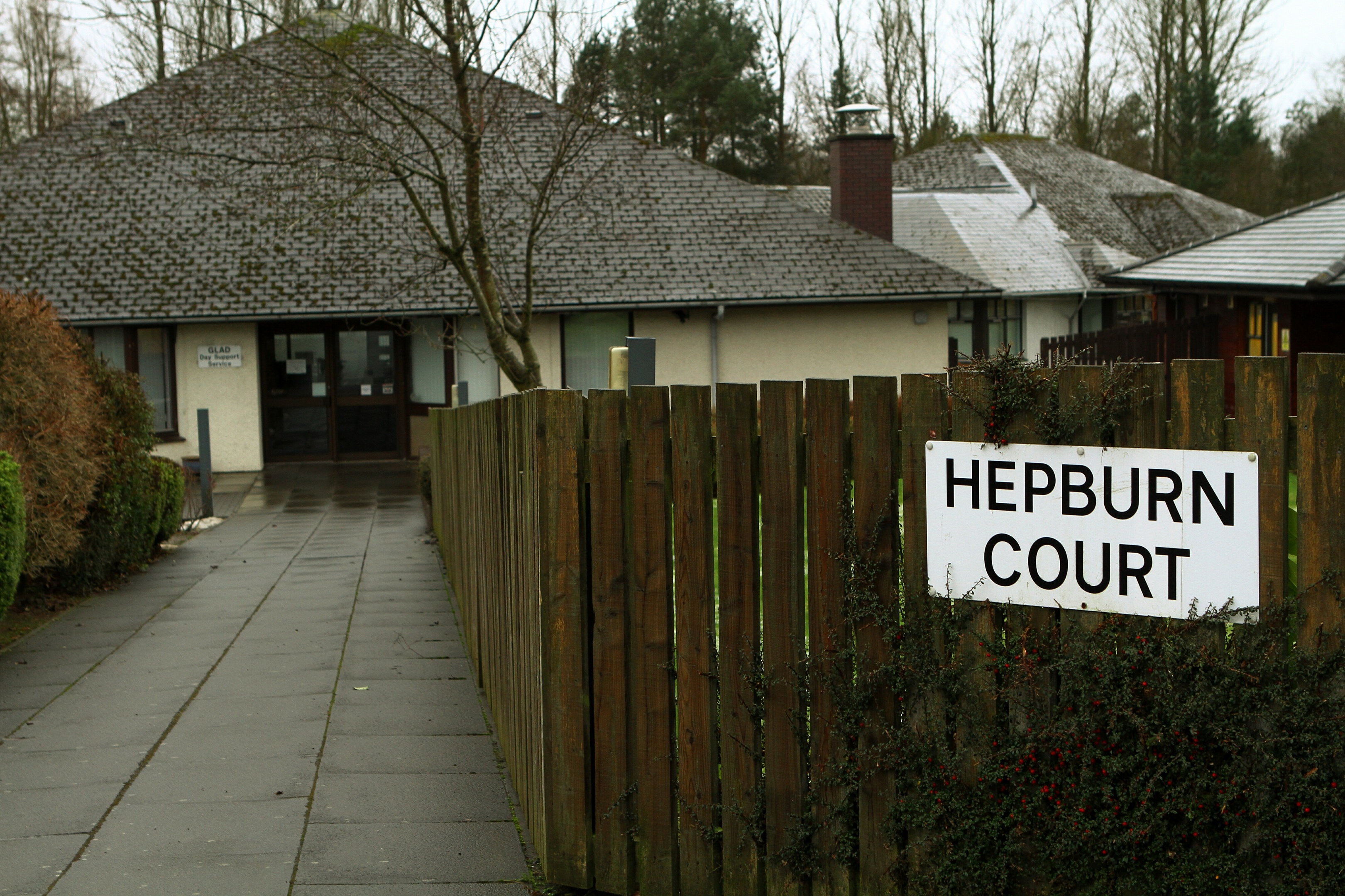 The Hepburn Court Care Home in Glenrothes.