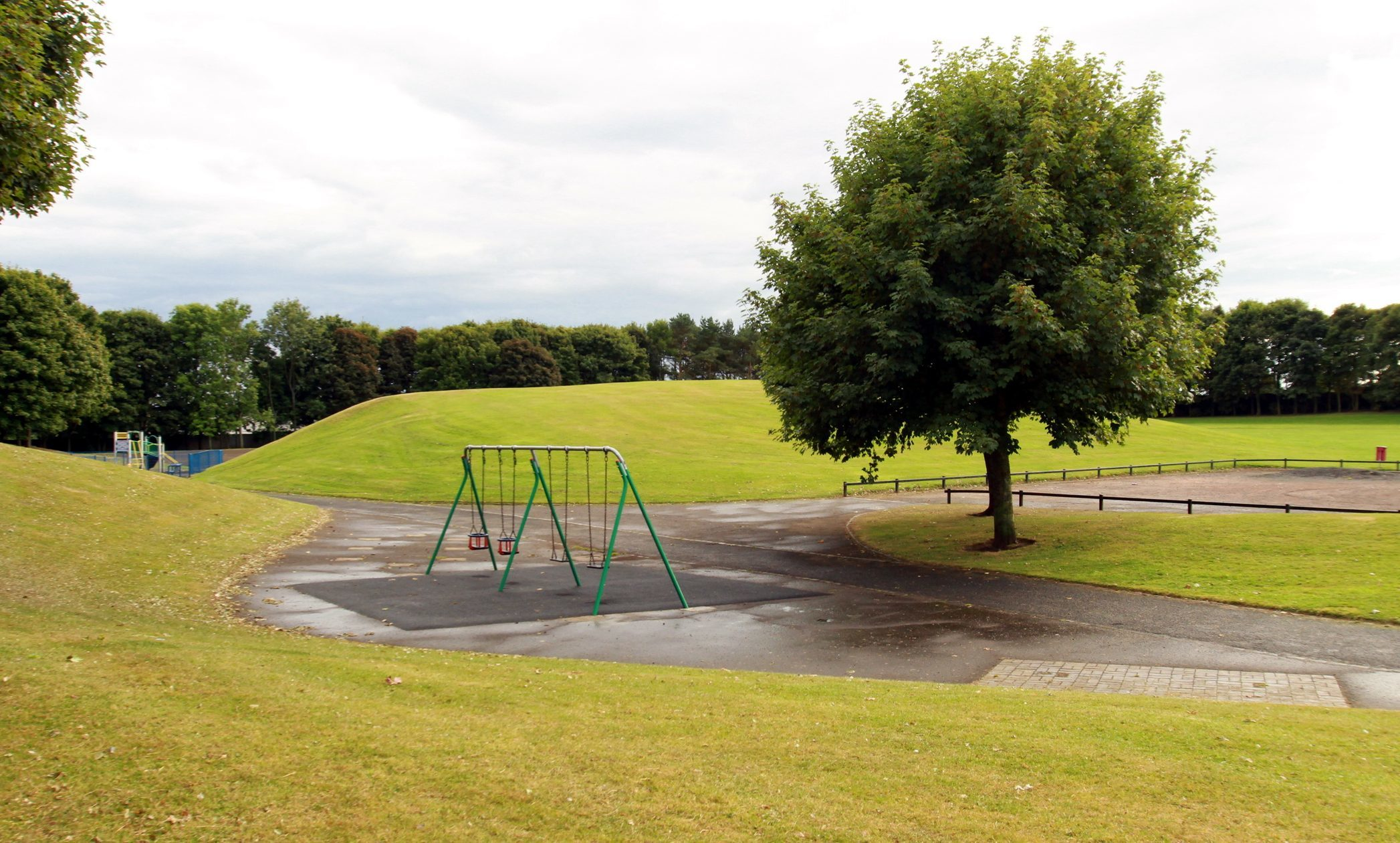 Gillies Park will get a multi-use games area.