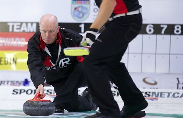 Glenn Howard in action.