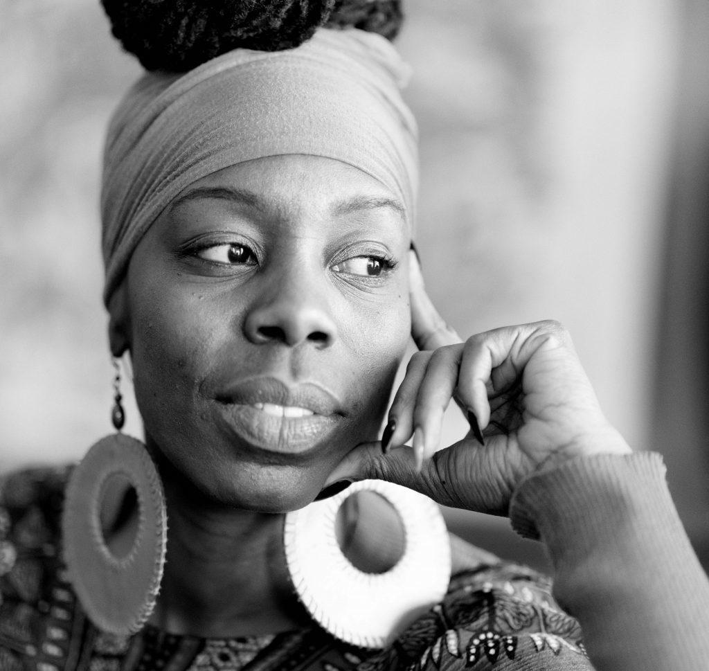 Chicago activist and gun violence prevention campaigner Afrika Porter, Chicago IL. 13 December 2016