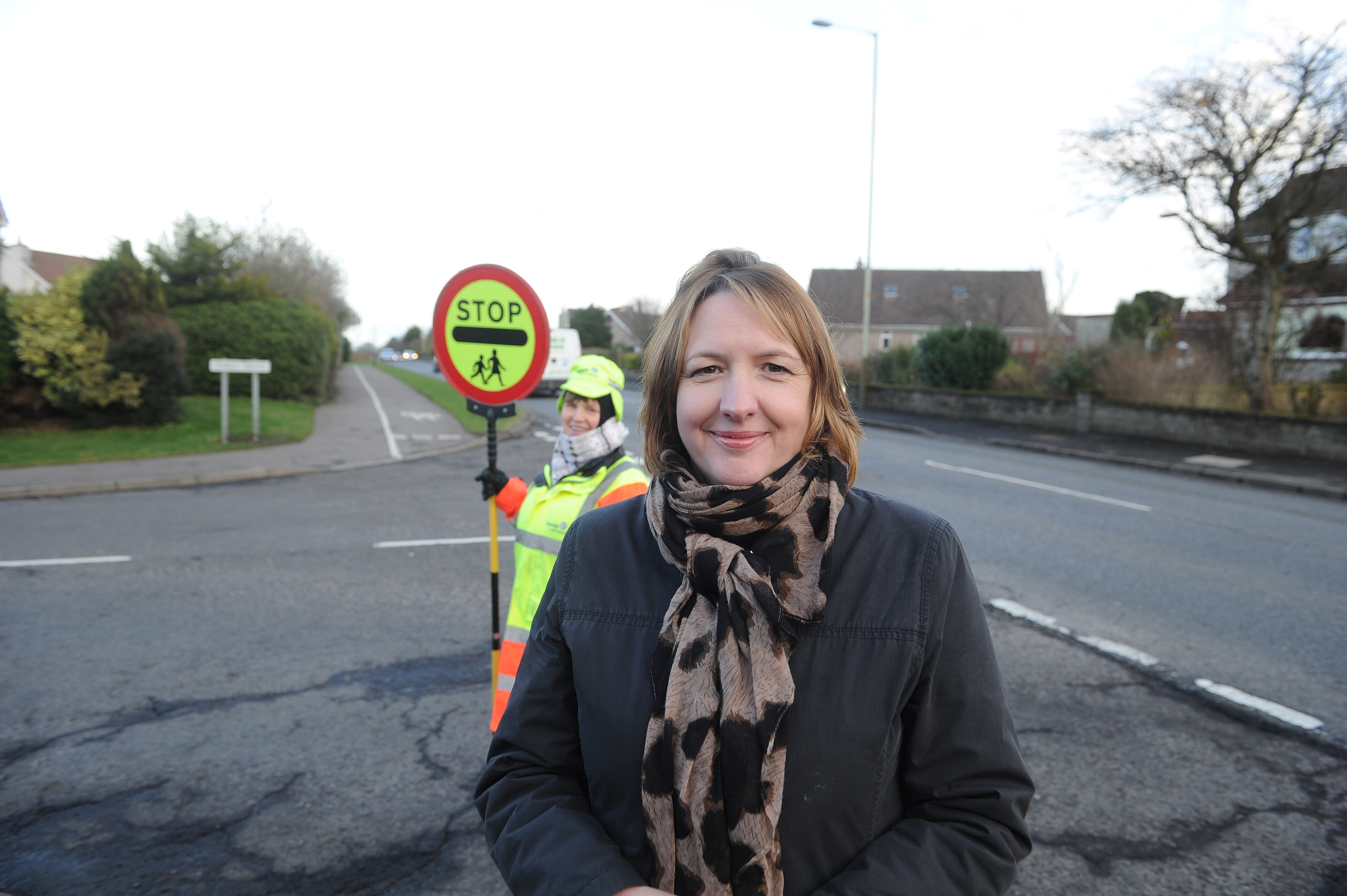 Angela created the petition after Freda was moved from her position outside Forthill Primary School.