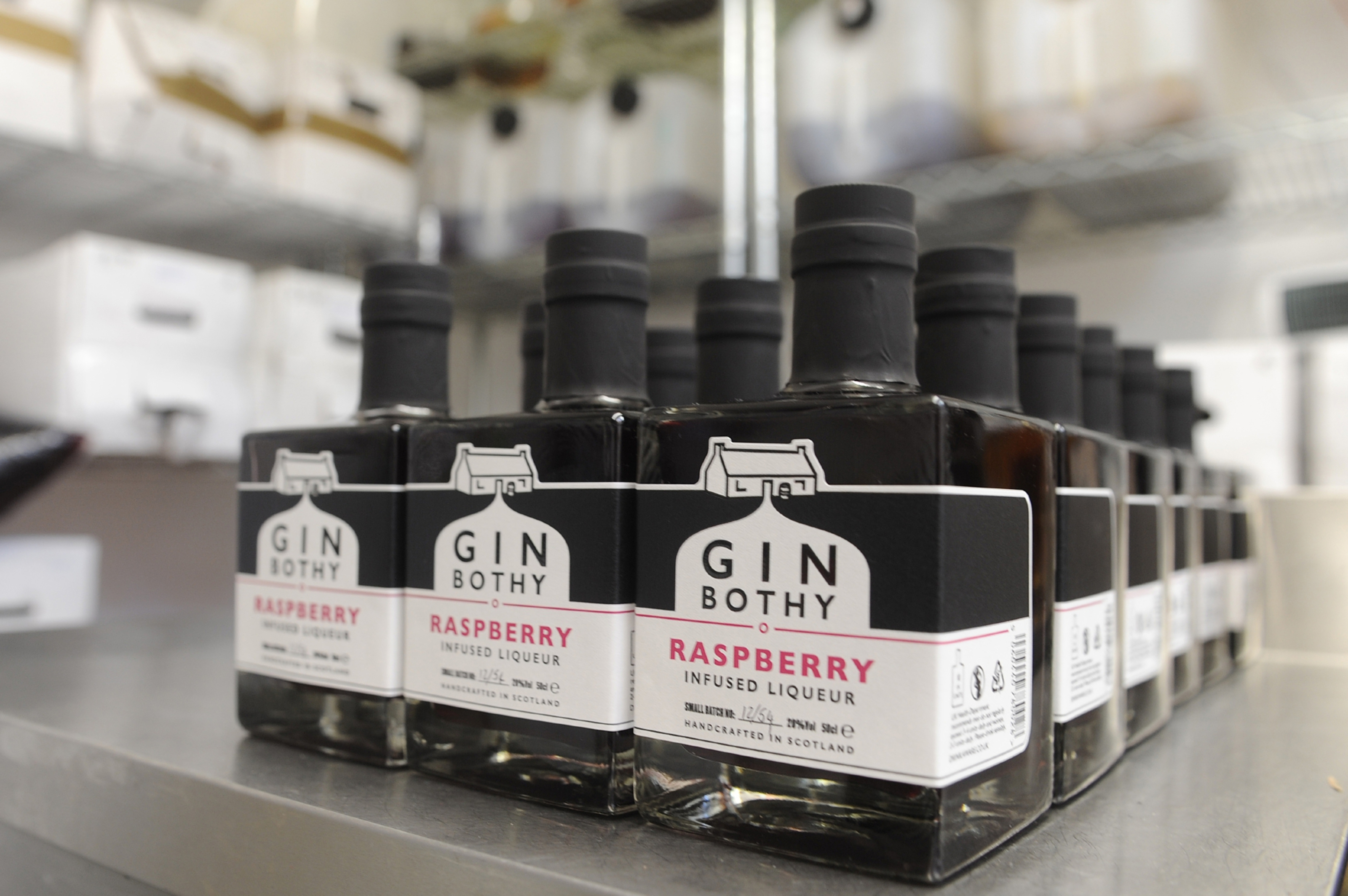 Gin lovers will be in heaven at the Gin Bothy!