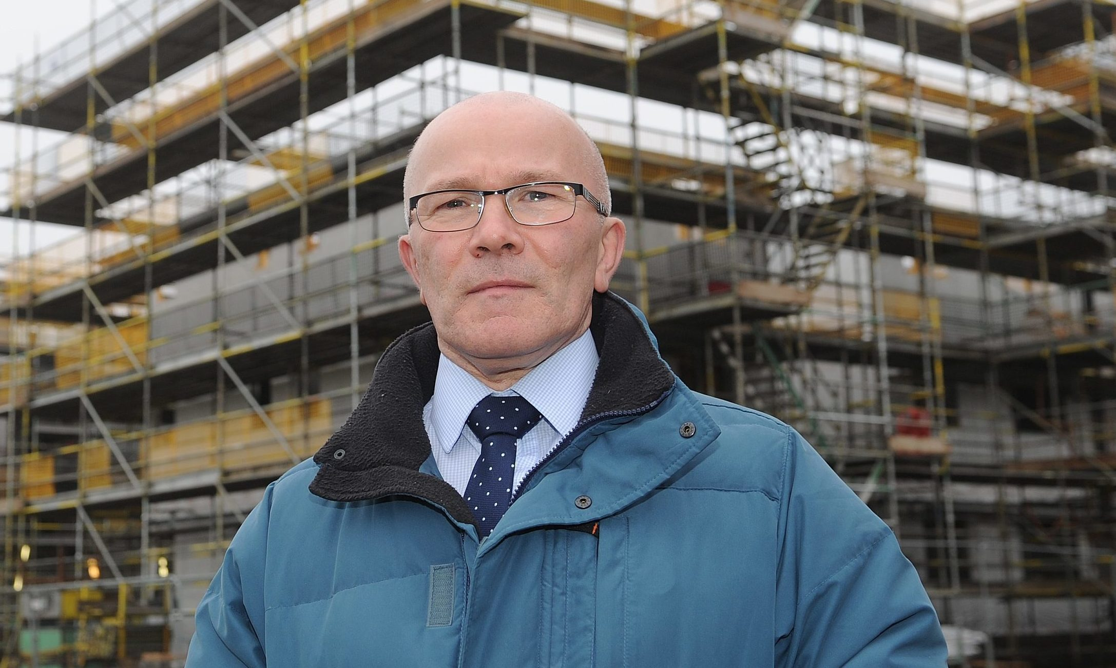Carnoustie councillor David Cheape.