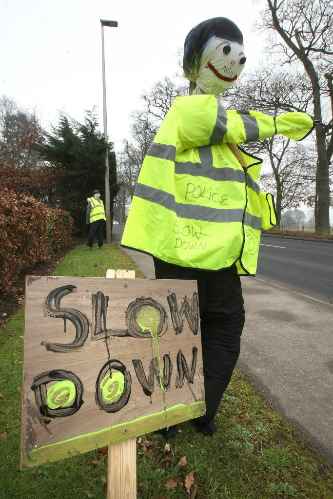 Campaigners say the mannequins had immediately helped to reduce speeds.