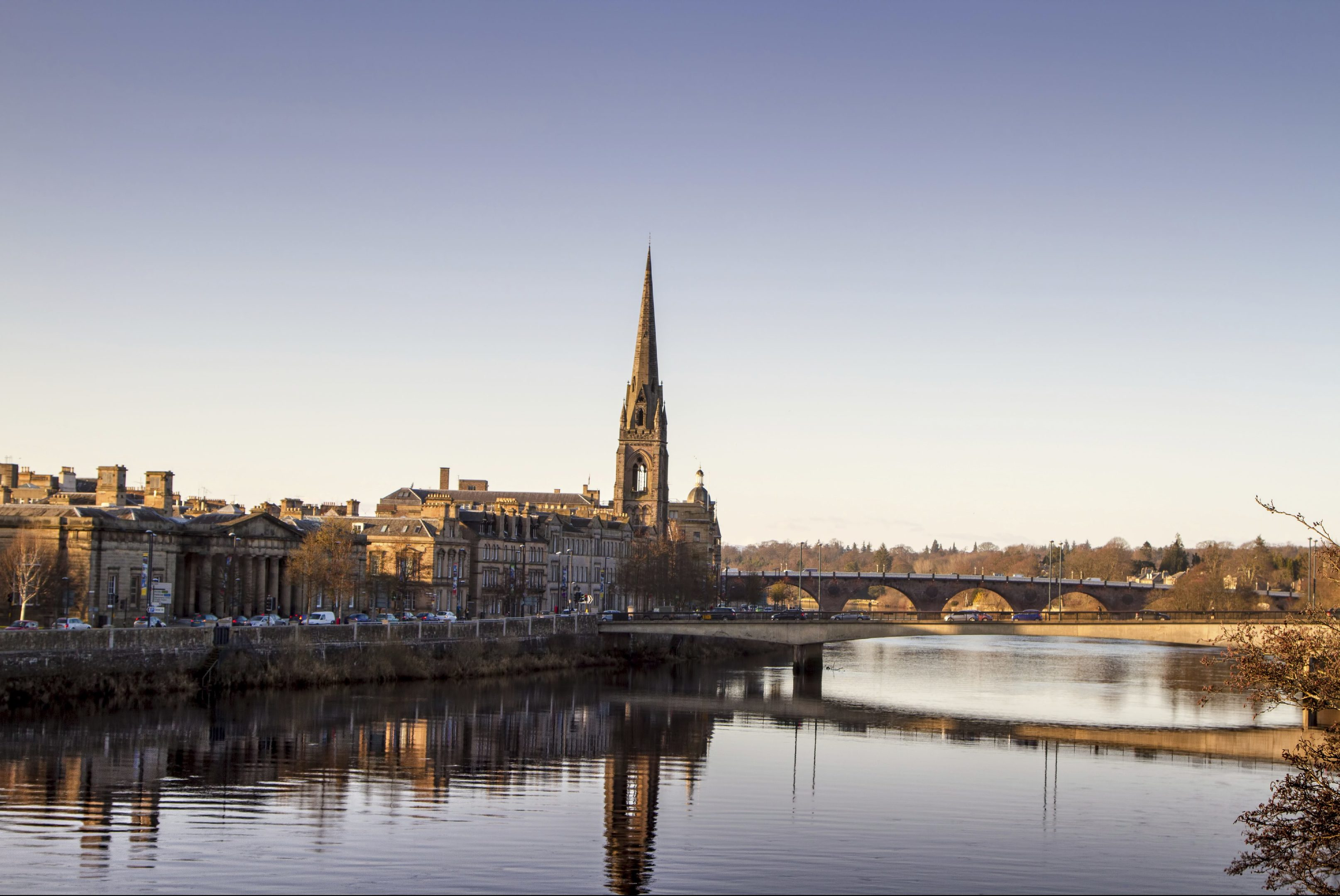 The River Tay at Perth.