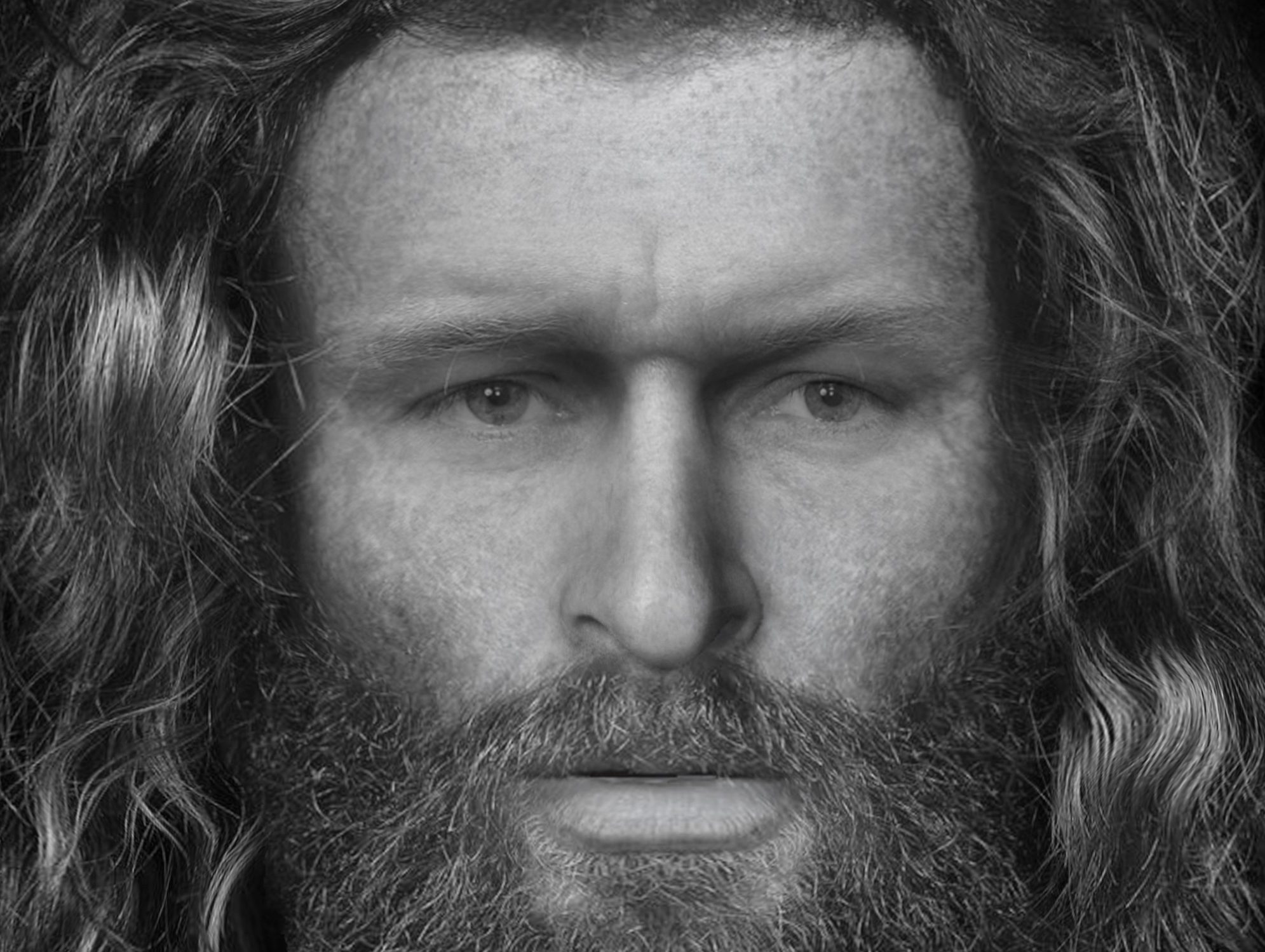 The man is thought to have been murdered in the 5th or 6th century AD.