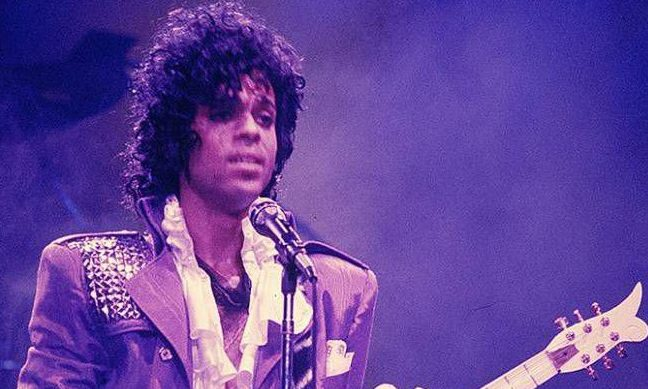 Music legend Prince.