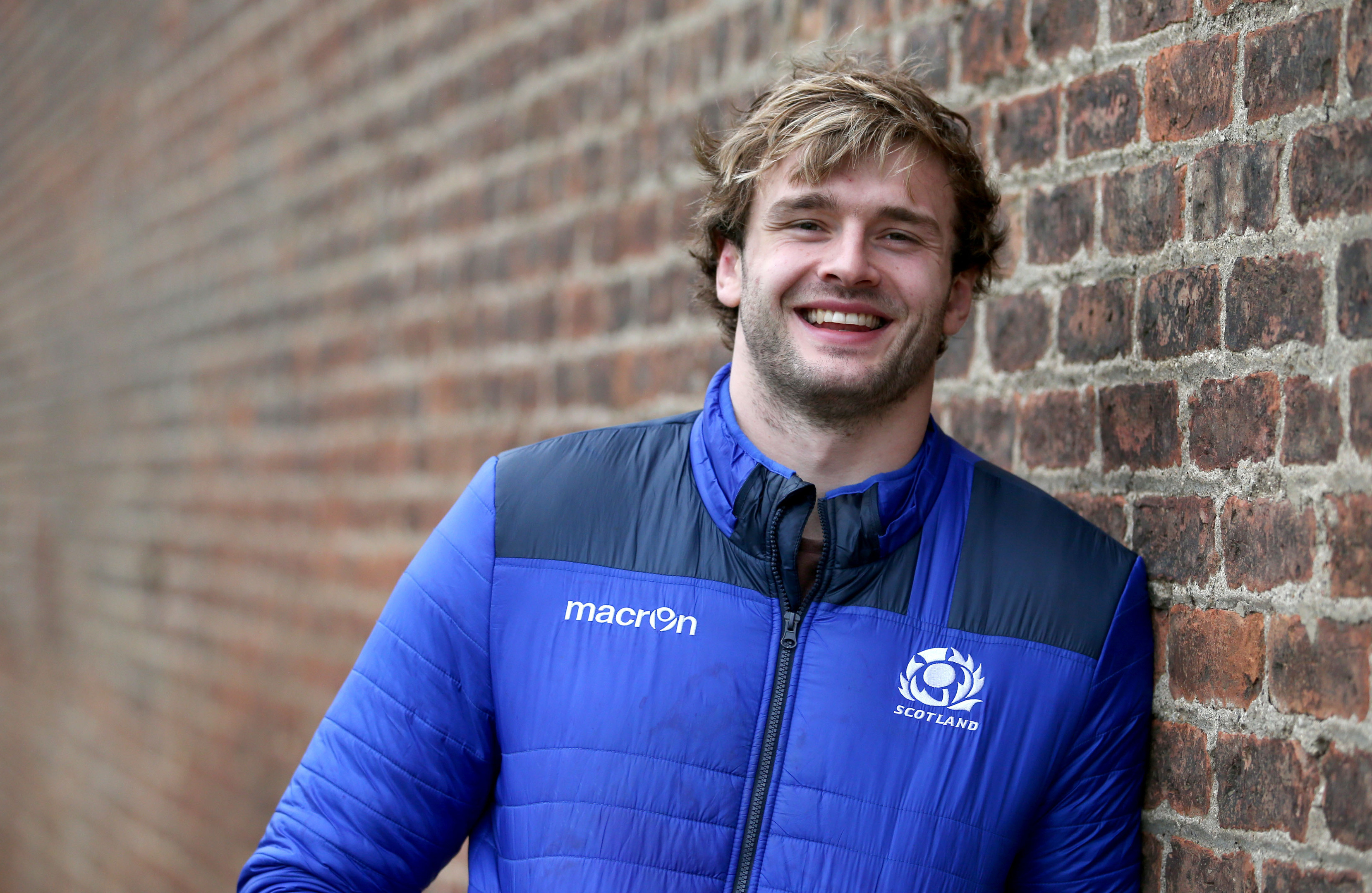 Richie Gray is comfortable taking orders from younger brother Jonny.