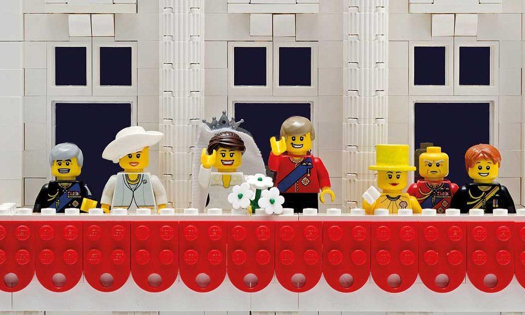 The Royal Wedding in Lego
