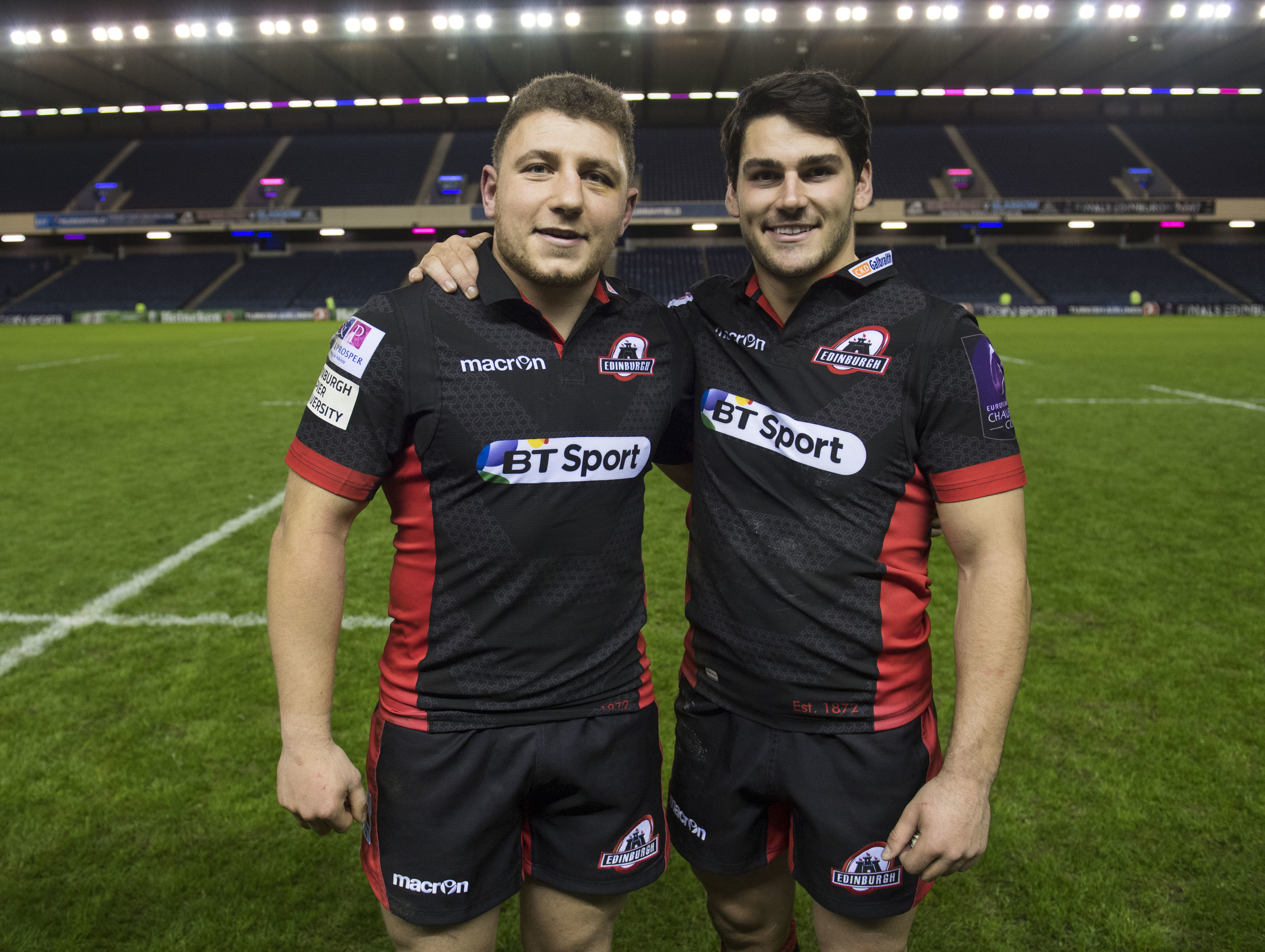 Duncan Weir and Sam Hidalgo-Clyne will gteam up at half-back for Edinburgh at Leinster.