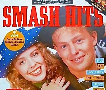 A 1988 copy of Smash Hits