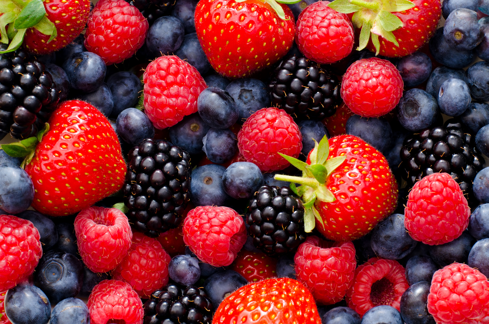 Soft fruit can have a range of beneficial effects on food digestion