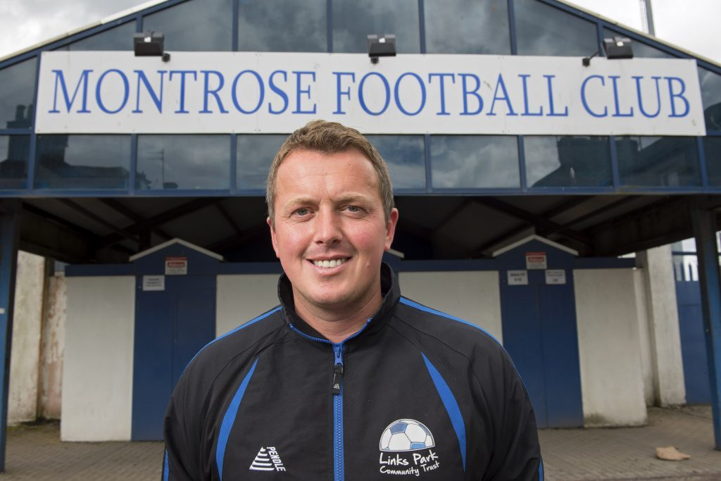 Links Park Community Trust Project manager Peter Davidson is pictured.