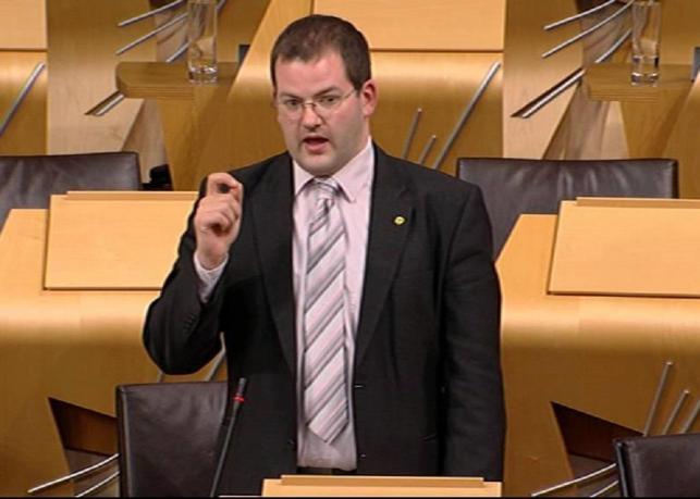 Mark McDonald MSP introduced the legislation