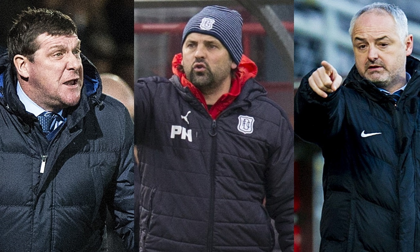 Tommy Wright. Paul Hartley and Ray McKinnon had mixed fortunes on transfer deadline day.