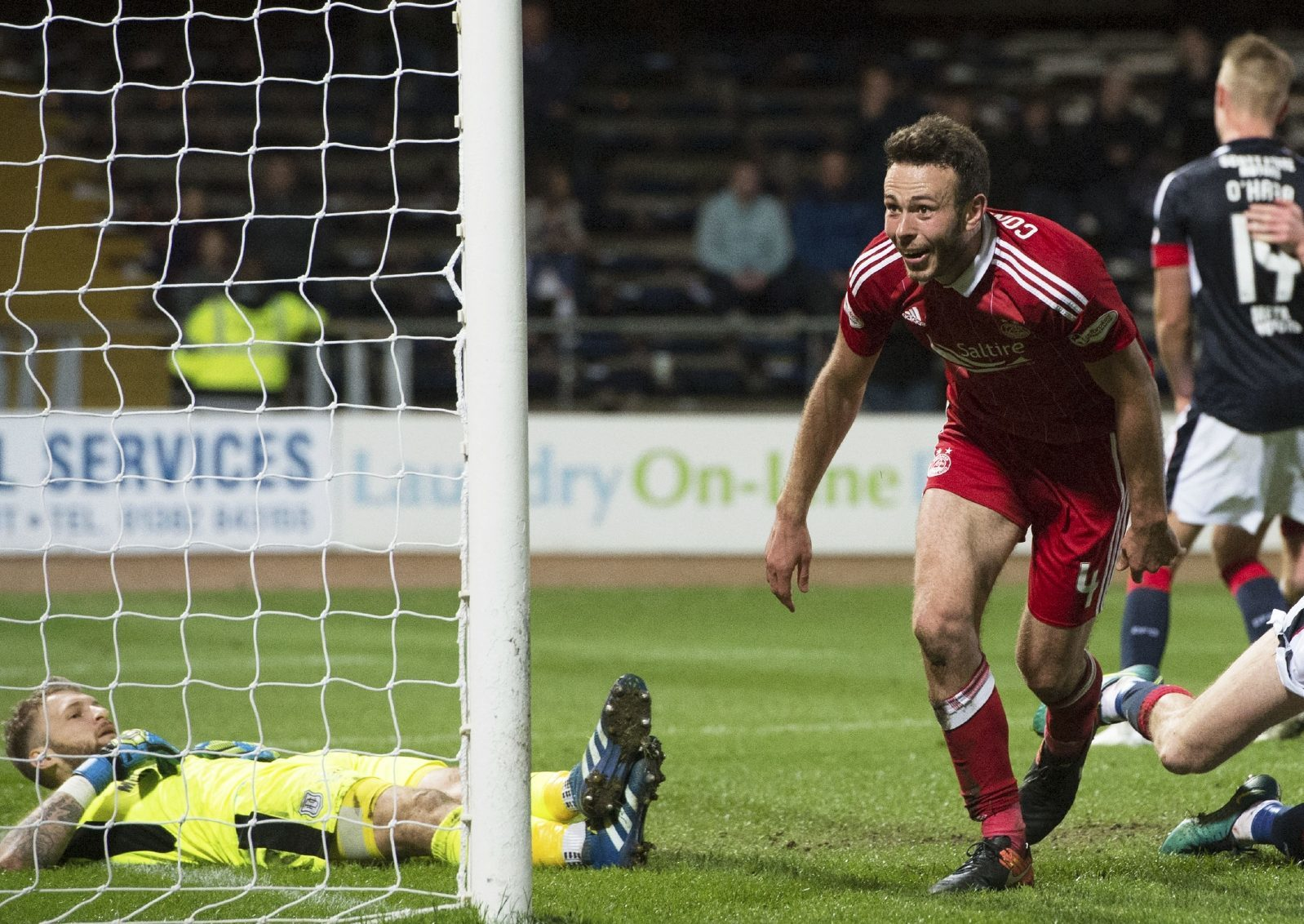 Andrew Considine makes it 7-0 to the Dons.