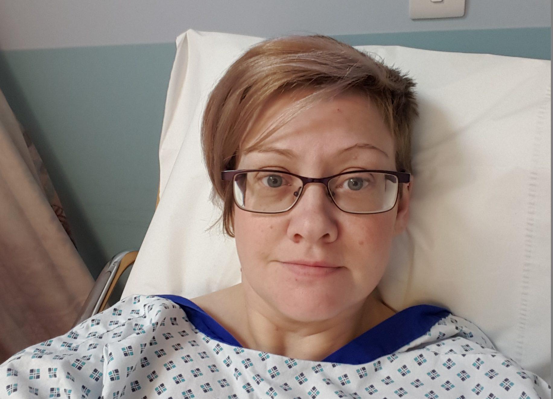 Kirriemuir cancer survivor Tracey Roberts