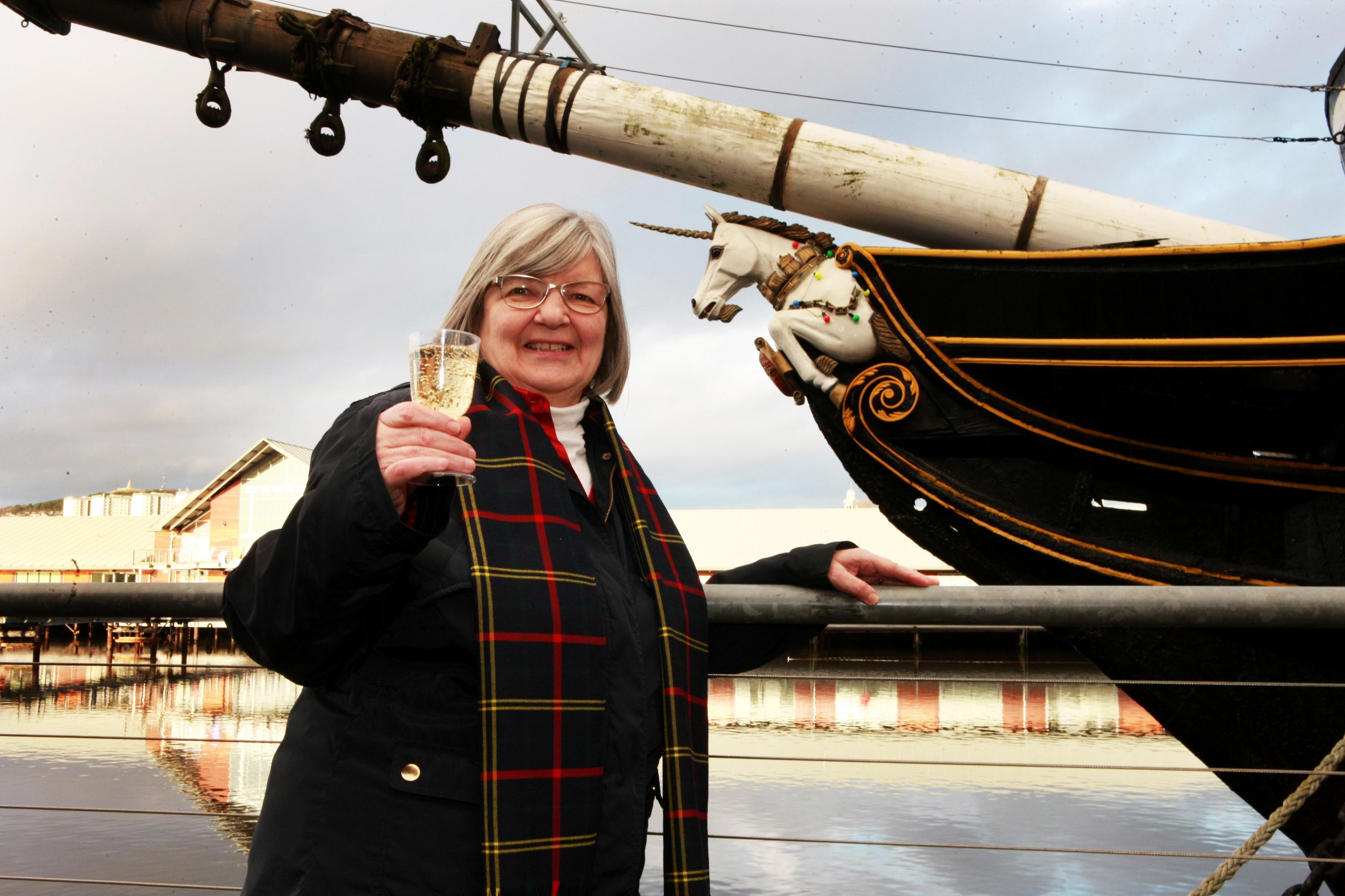 City Centre and Harbour Community Council secretary Sheena Wellington.