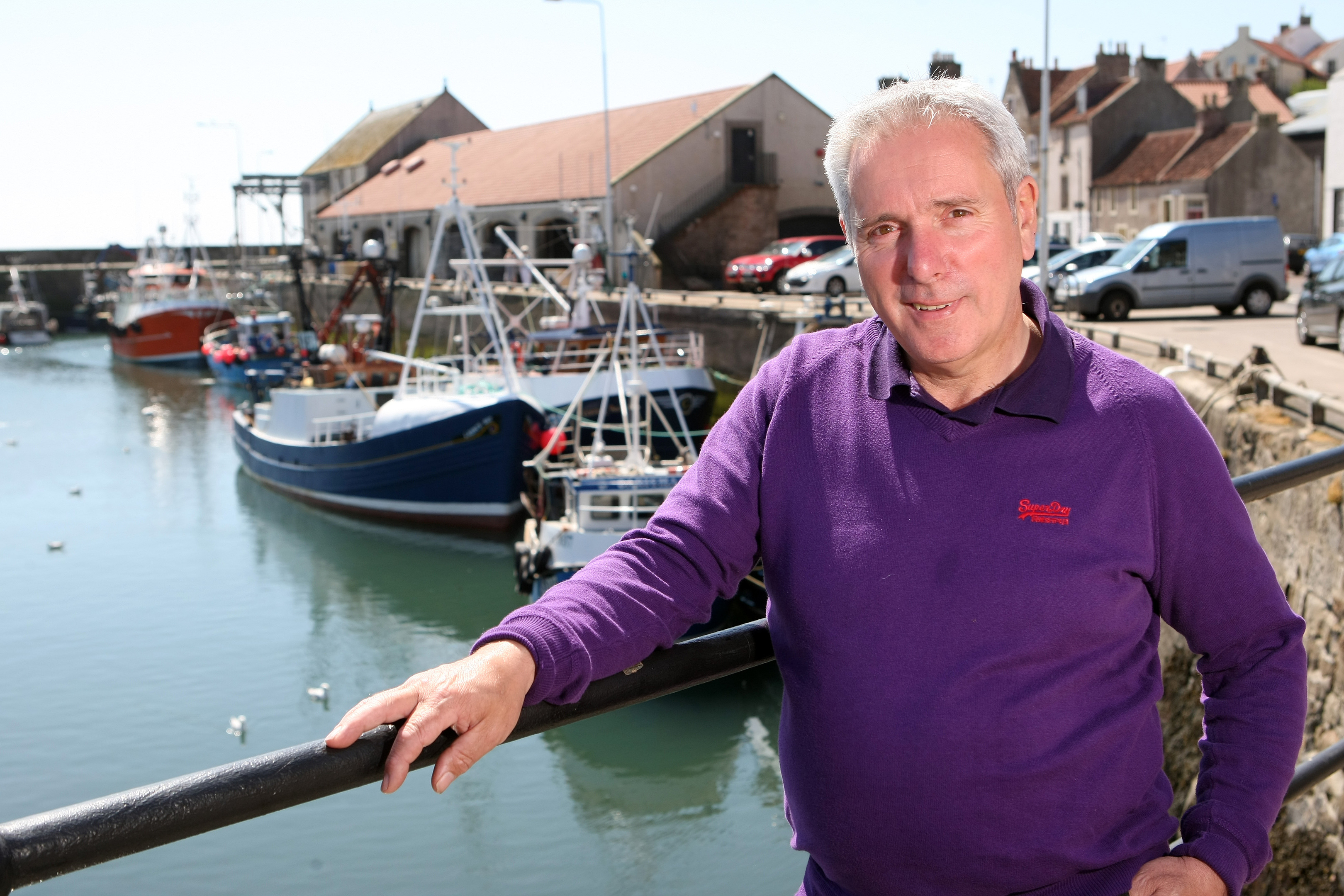 Tom Mackenzie has welcomed news of cash for dredging at Pittenweem and Anstruther harbours.