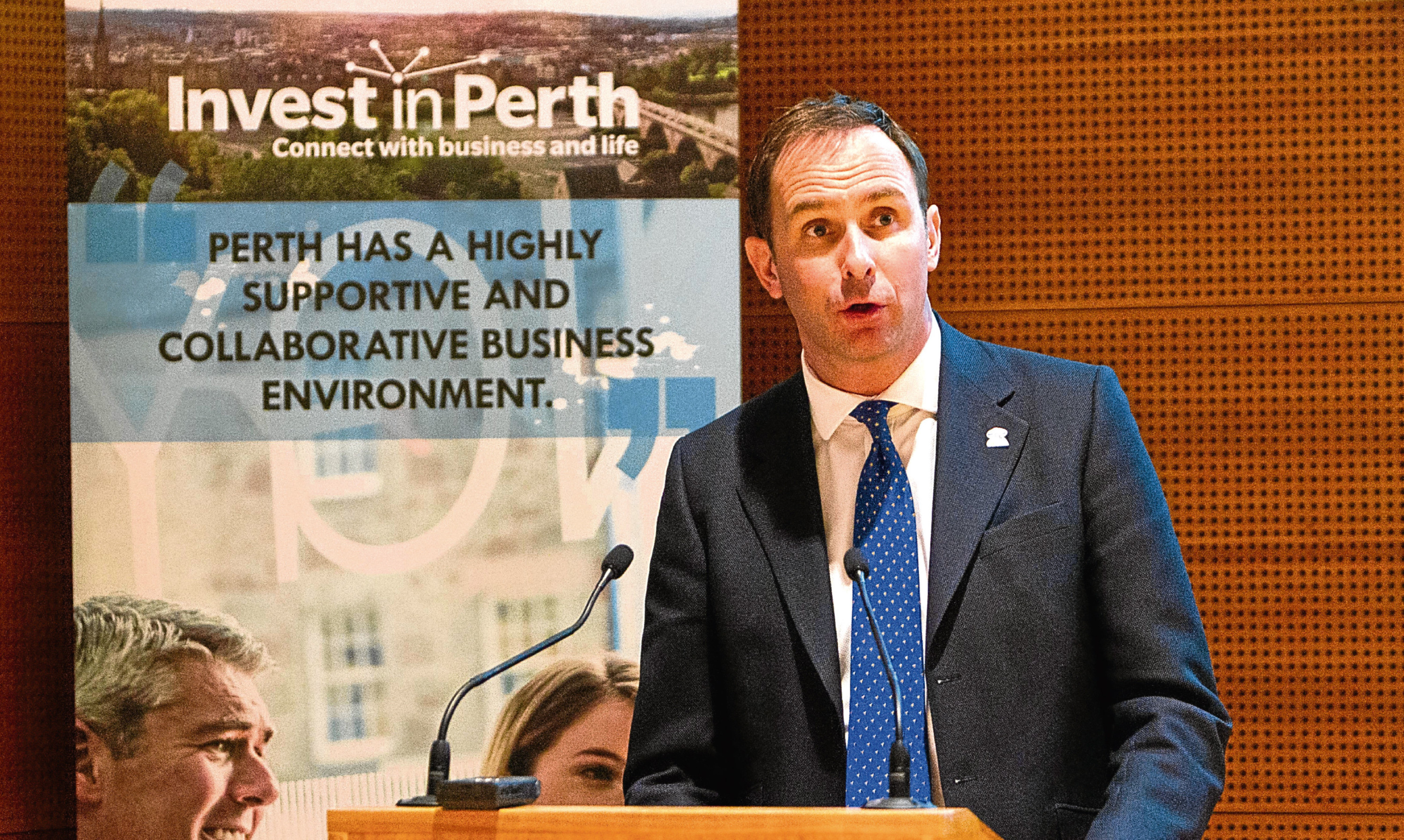John Bullough believes a world-class attraction can be created in Perth City Hall.