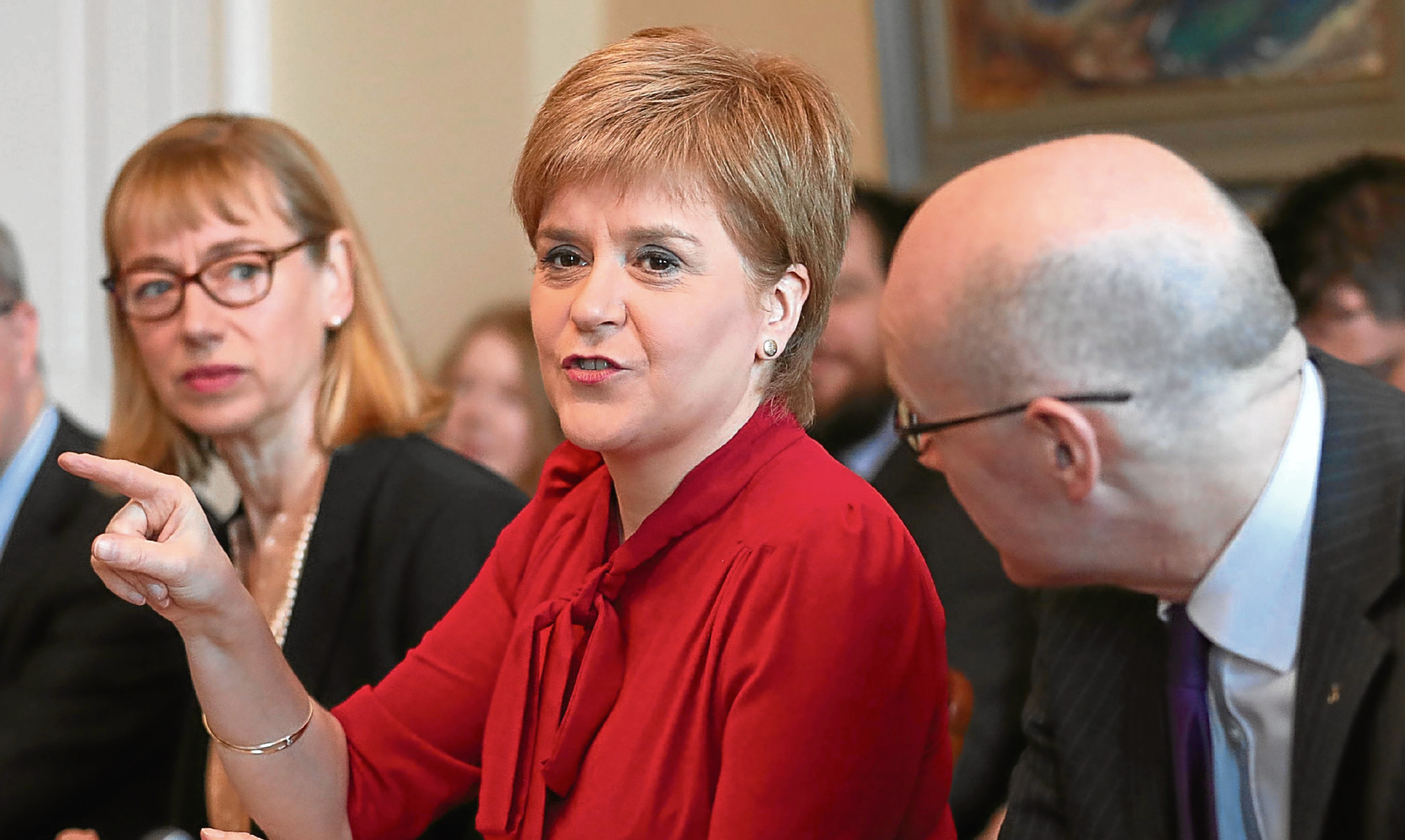 A pointer in the wrong direction? Jenny feels Nicola Sturgeon's referendum call could badly backfire.