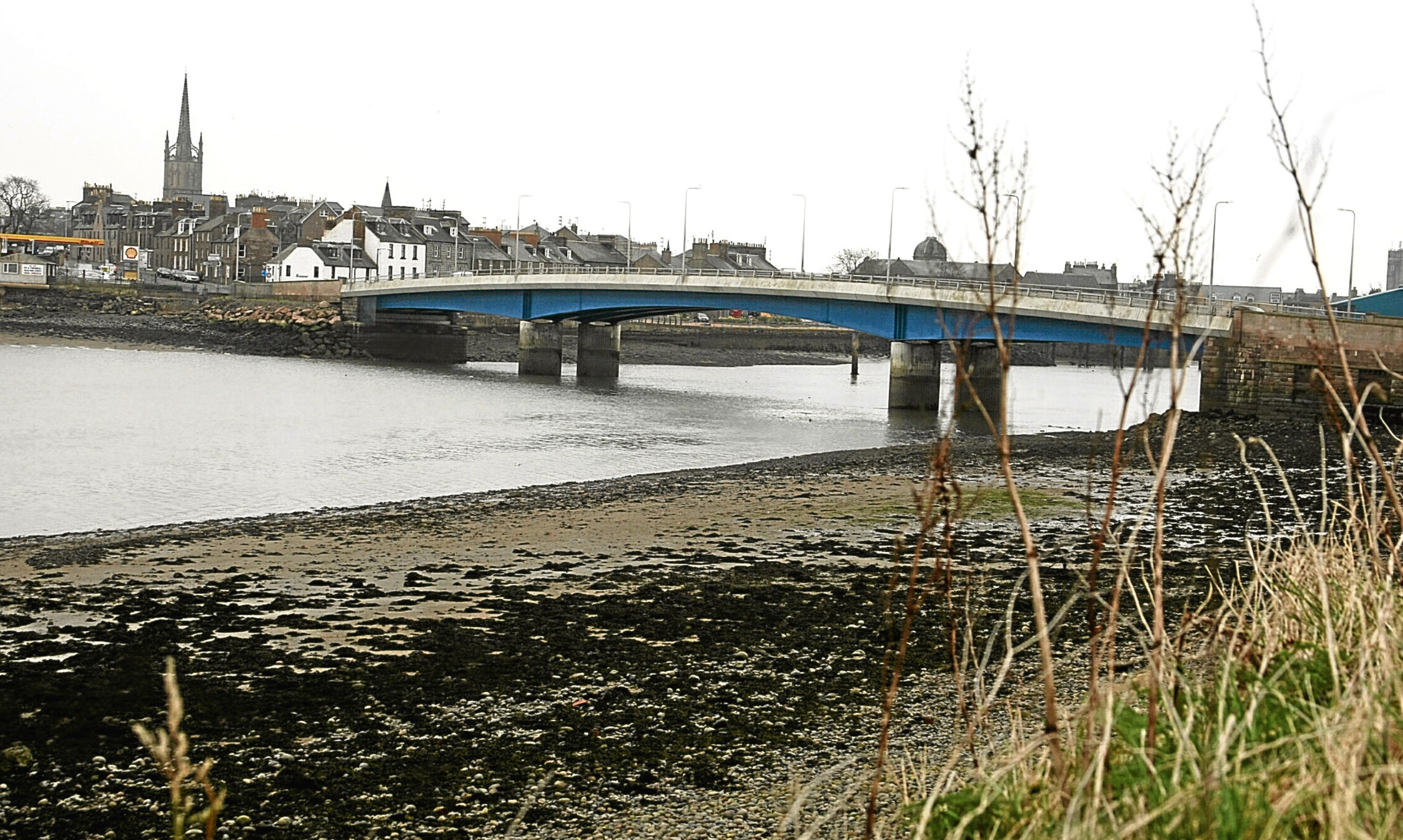 The bridge over the South Esk at Montrose.