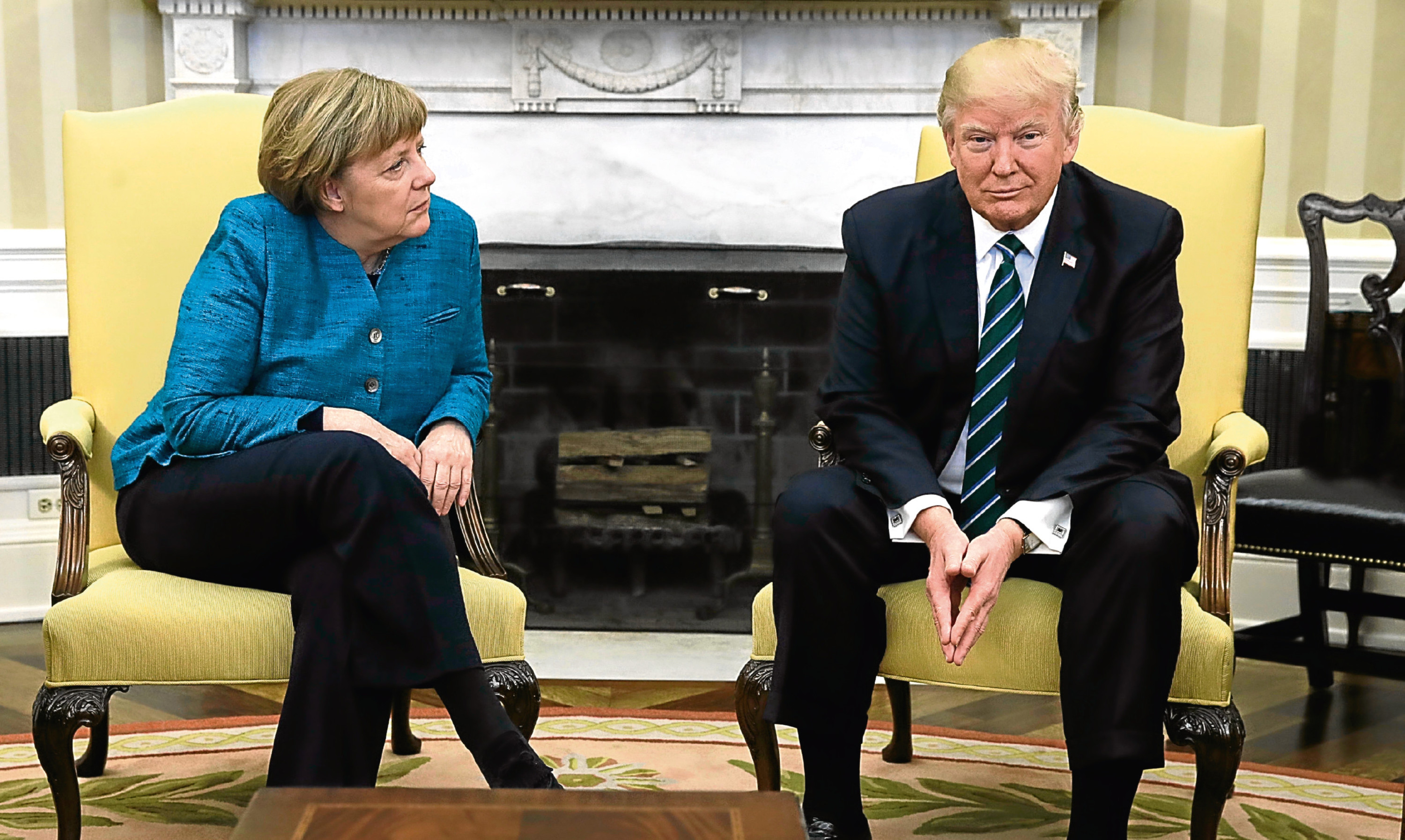 An awkward moment when Angela Merkel met Donald Trump sums up for Jim why communication is so vital in the modern world.