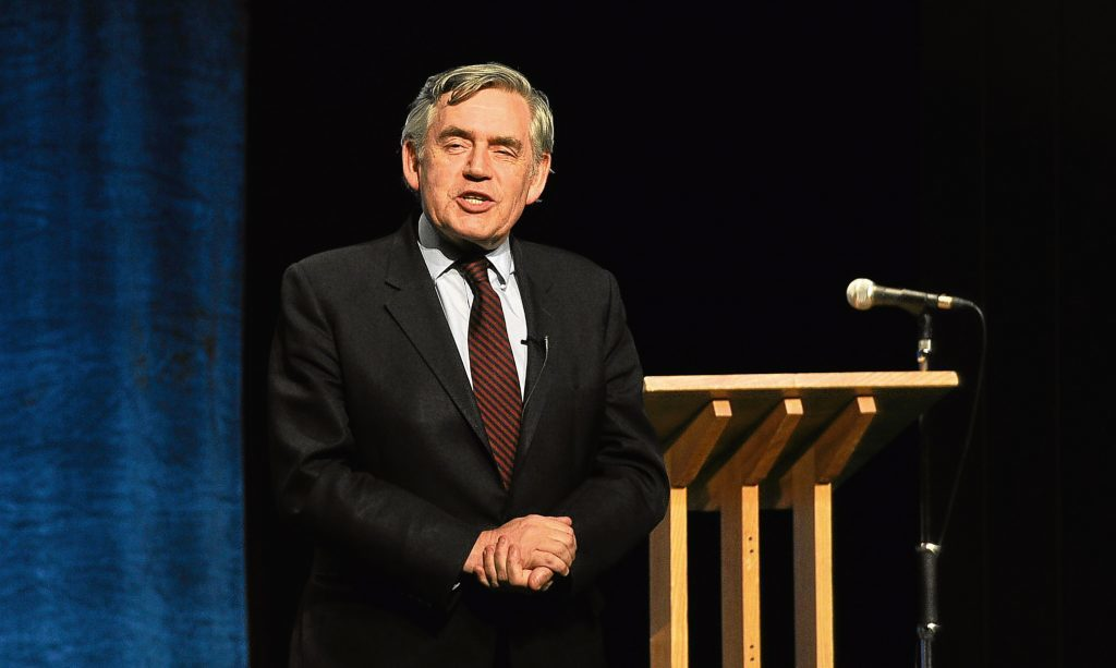 "Gordon Brown has claimed that Scotland is at risk of becoming ""one of the west's most divided countries""."