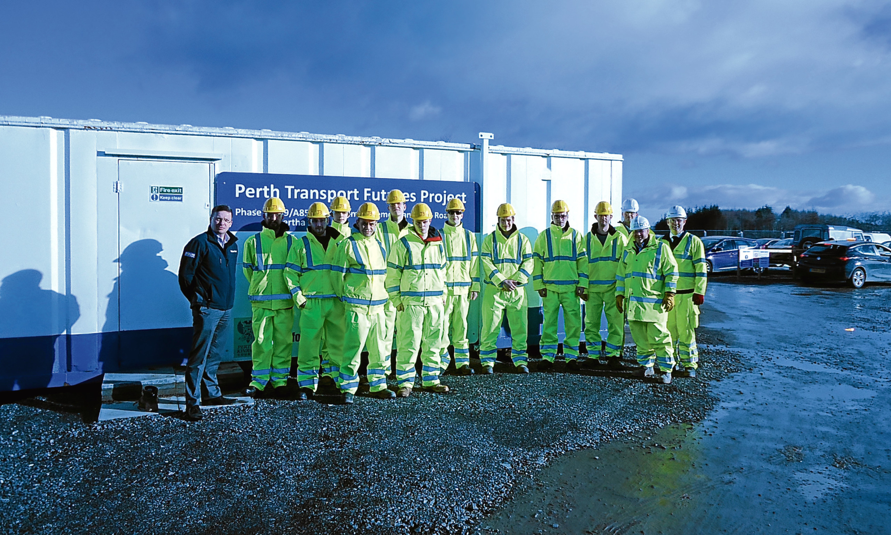 The trainees joining Balfour Beatty at the Perth Transport Futures Project