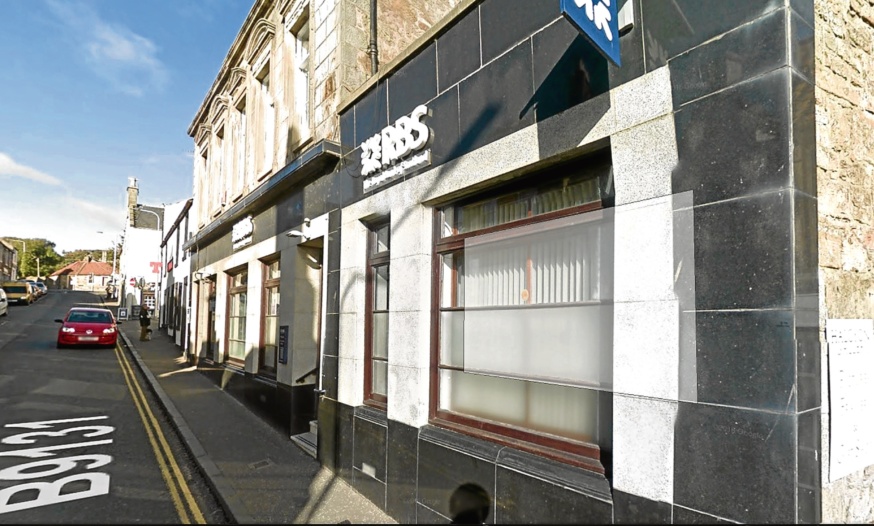 The Royal Bank of Scotland branch in Anstruther is facing closure.
