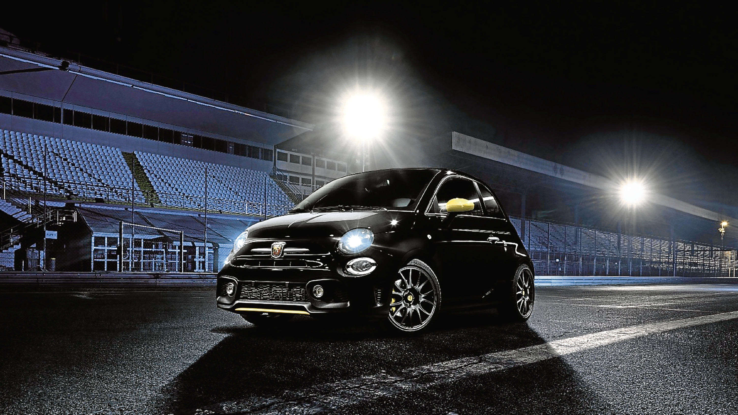 Undated Handout Photo of the Abarth 595 Trofeo, which has a range of updated parts. See PA Feature MOTORING News. Picture credit should read: PA Photo/Abarth. WARNING: This picture must only be used to accompany PA Feature MOTORING News.