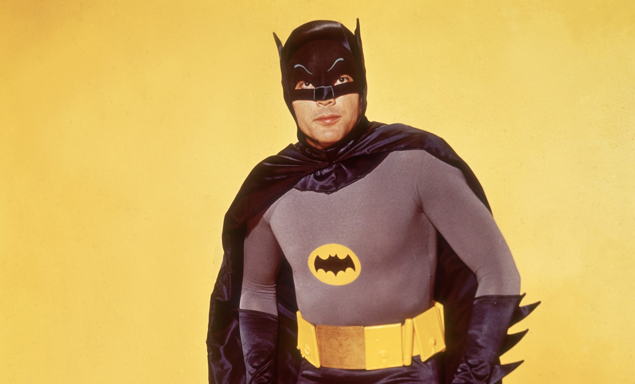Adam West as Batman for the 1966 movie.