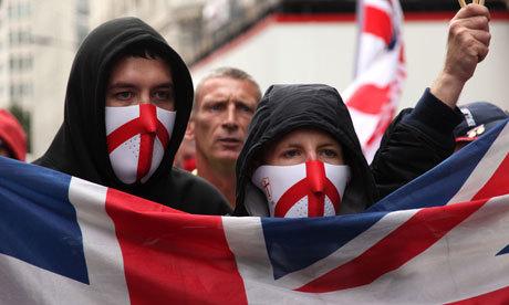 Assertive English Far Right Nationalism has seen a resurgence