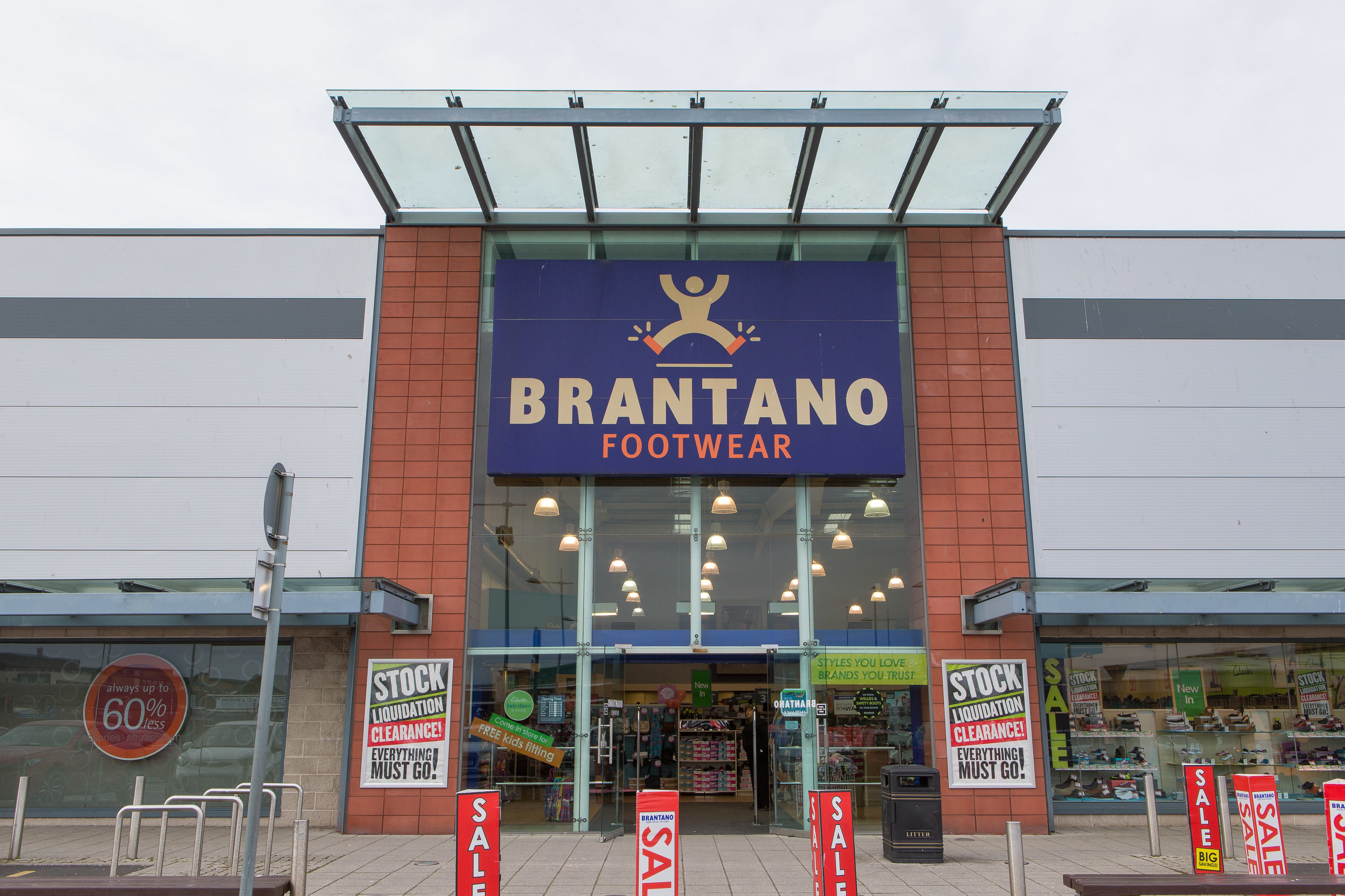 Brantano's footwear store at Dundee's Gallagher Retail Park