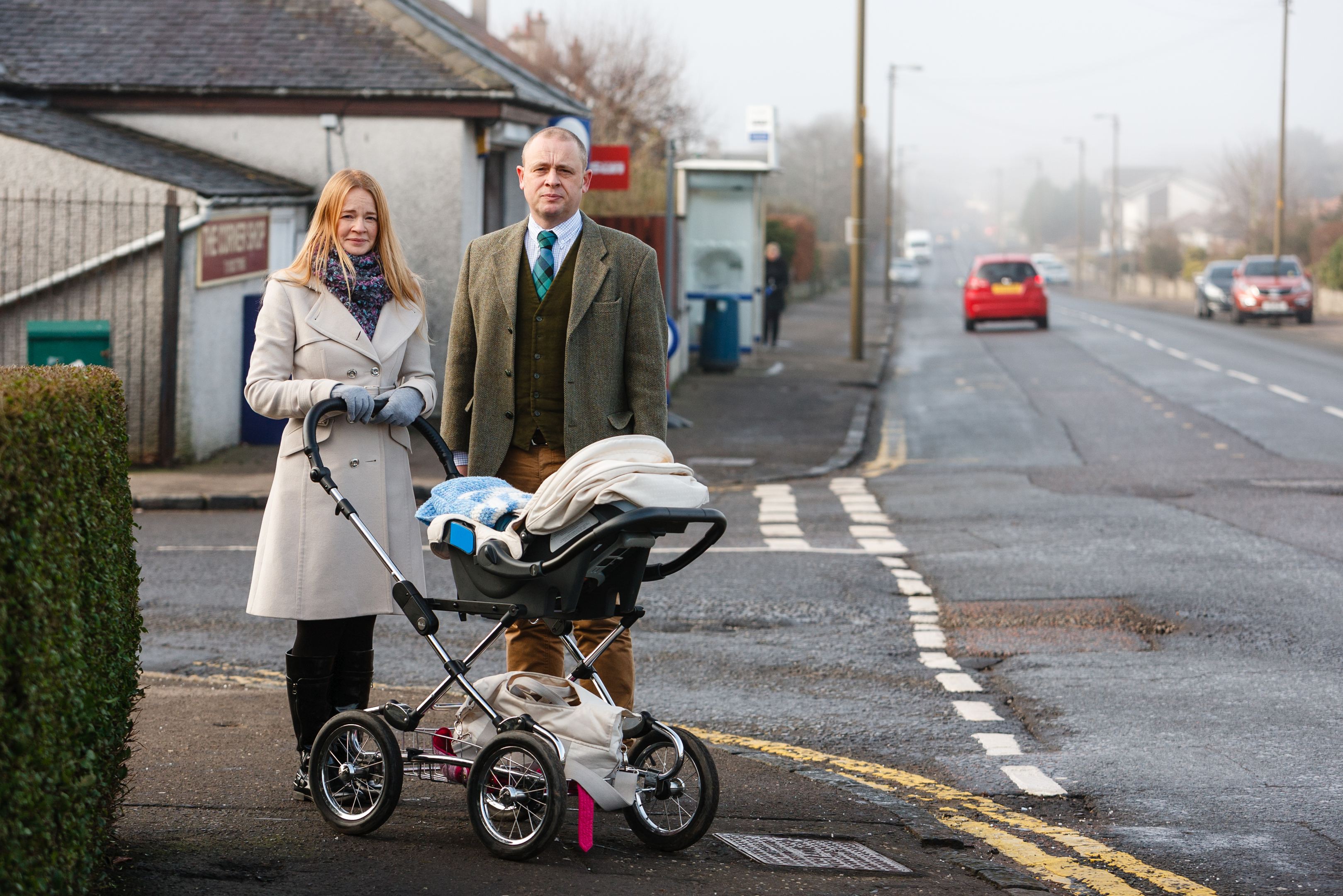 Both councillors believe parents' safety concerns are being addressed.