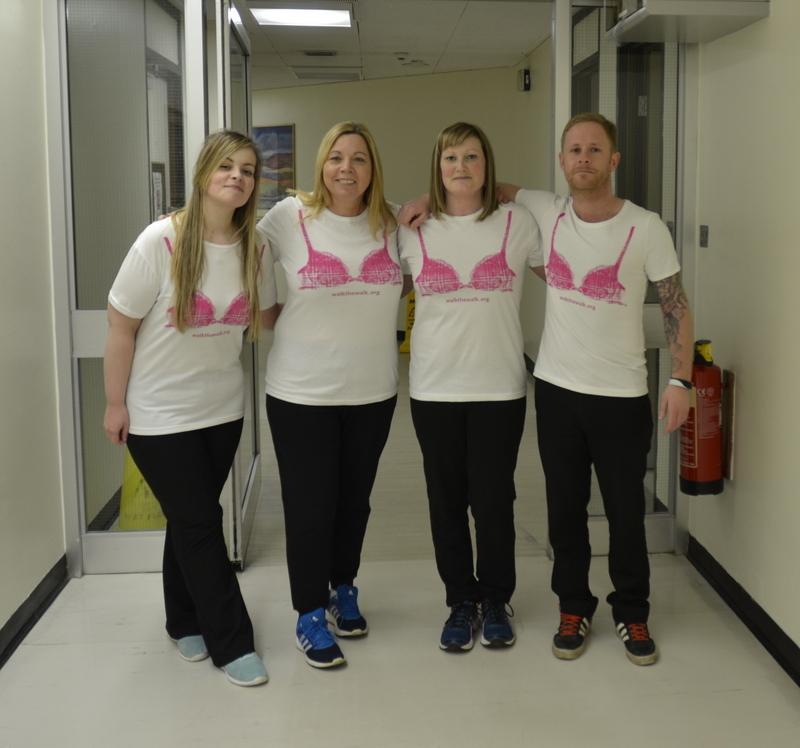 Team DoLeRoHa (from L-R): Roisin Mollison, Doreen Fechlie, Heather Anderson and Lee Smith.
