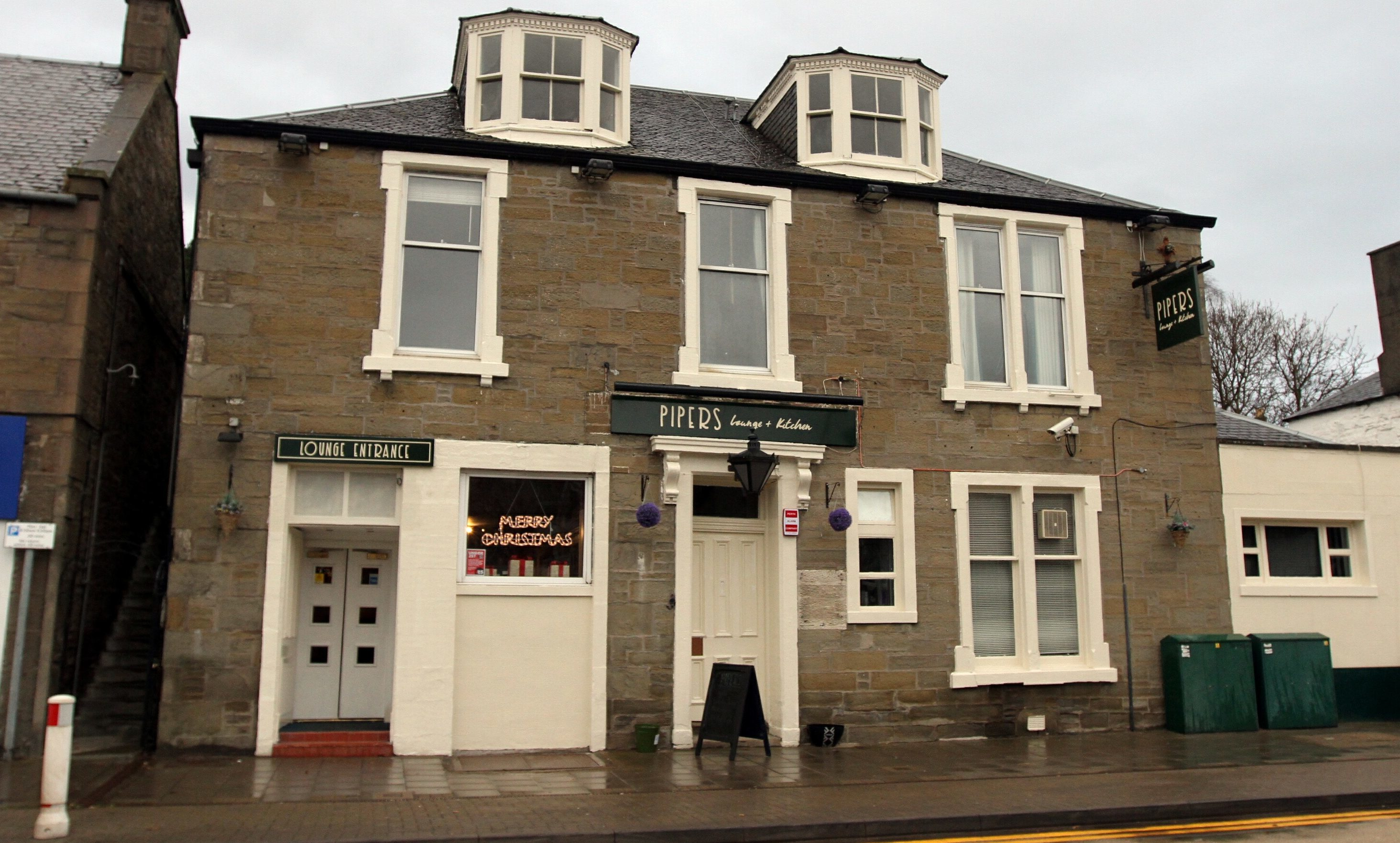 Pipers in Monifieth.