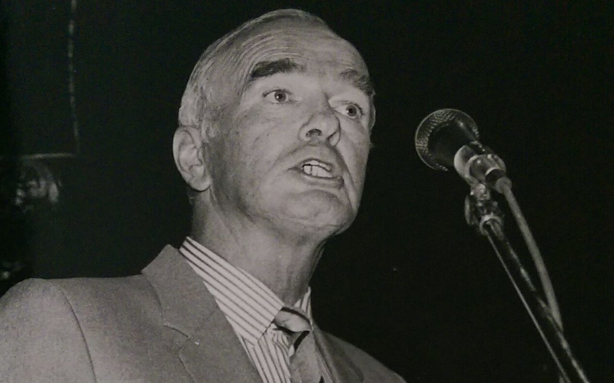 Political activist Hector  Barlow died recently at the age of 85.