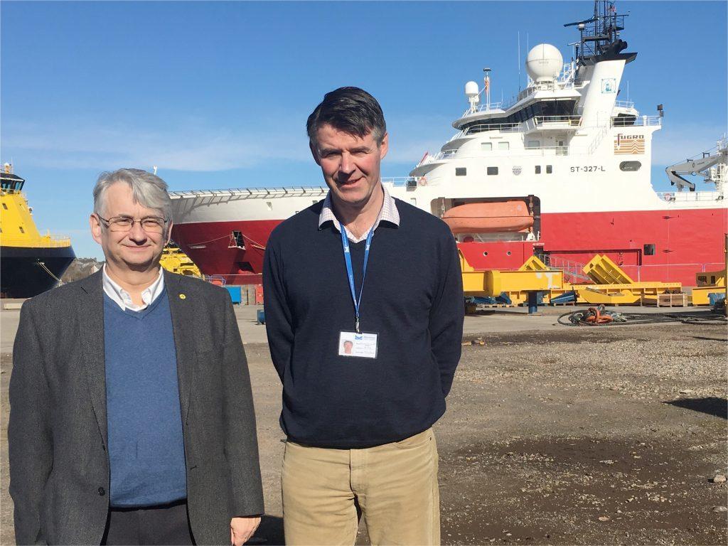Mr Weir and Mr Scott-Gray