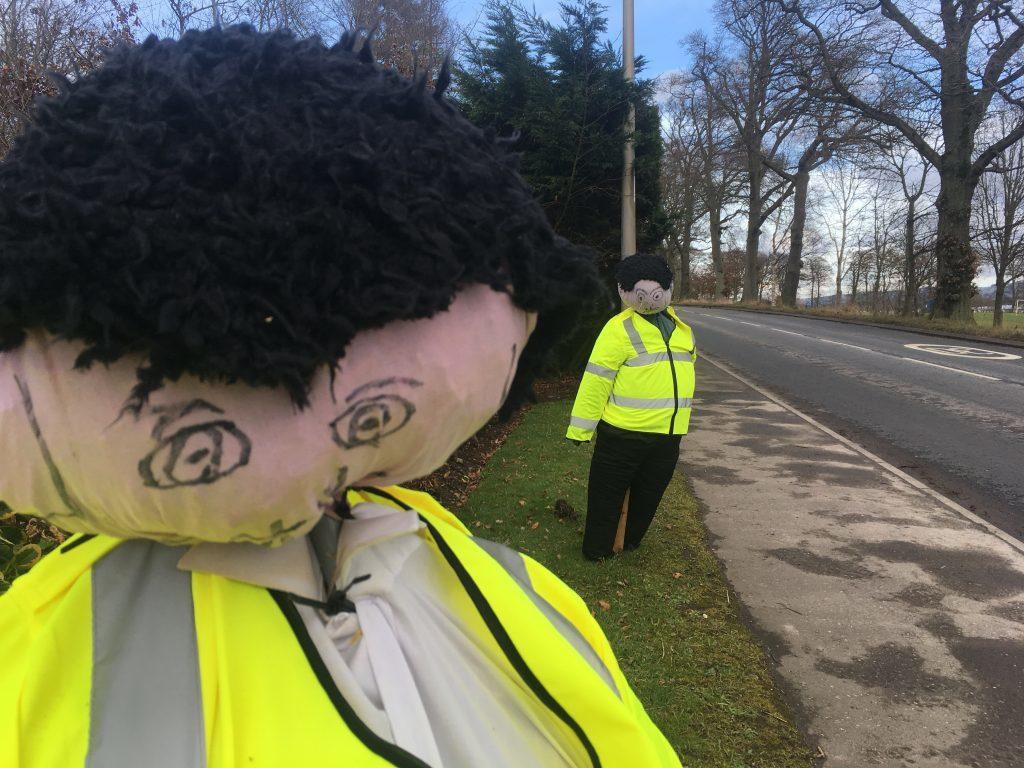 Coupar Angus traffic cops.