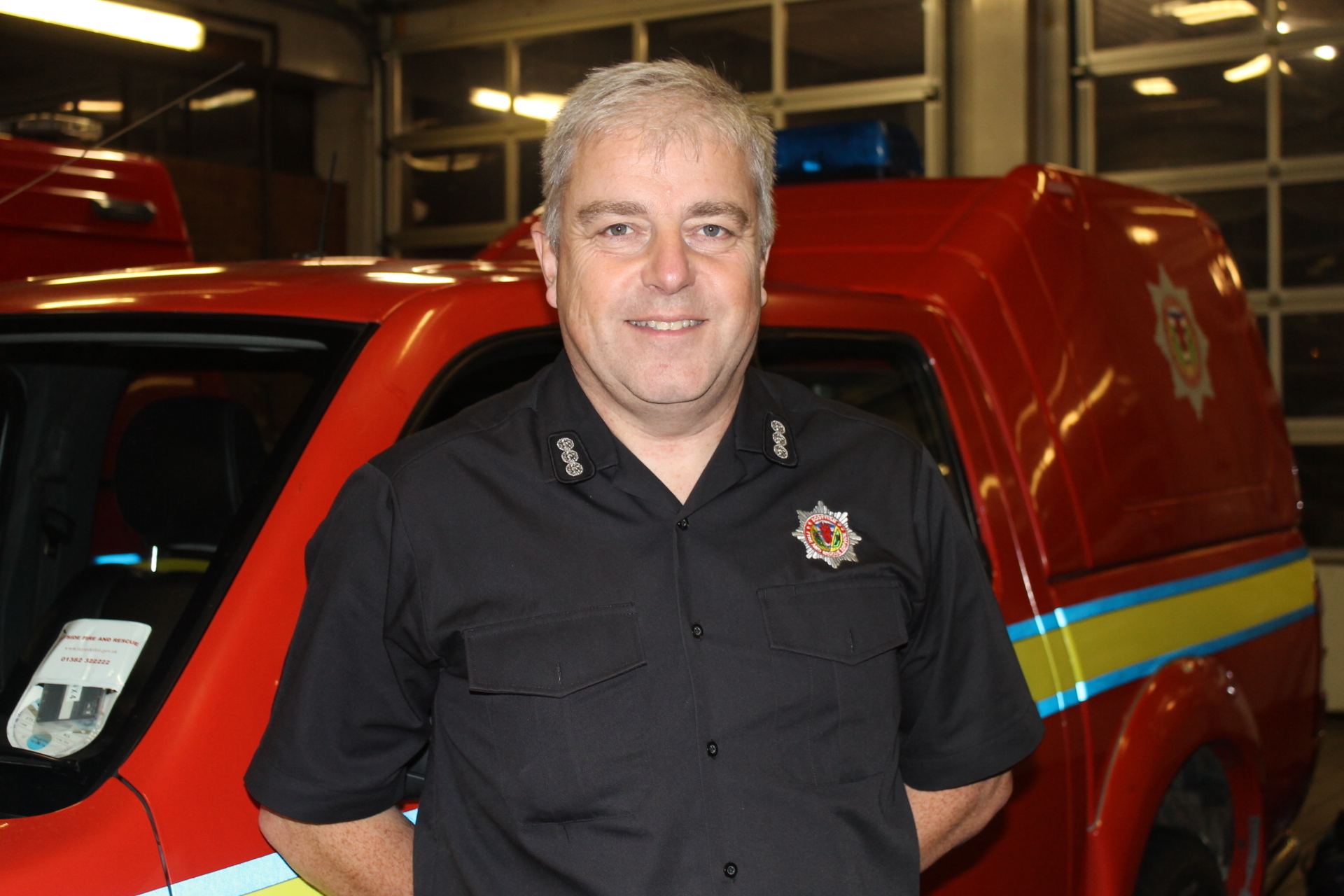 Mr Thomson has warned of the dangers faced by fire fighters when attending suspicious blazes.