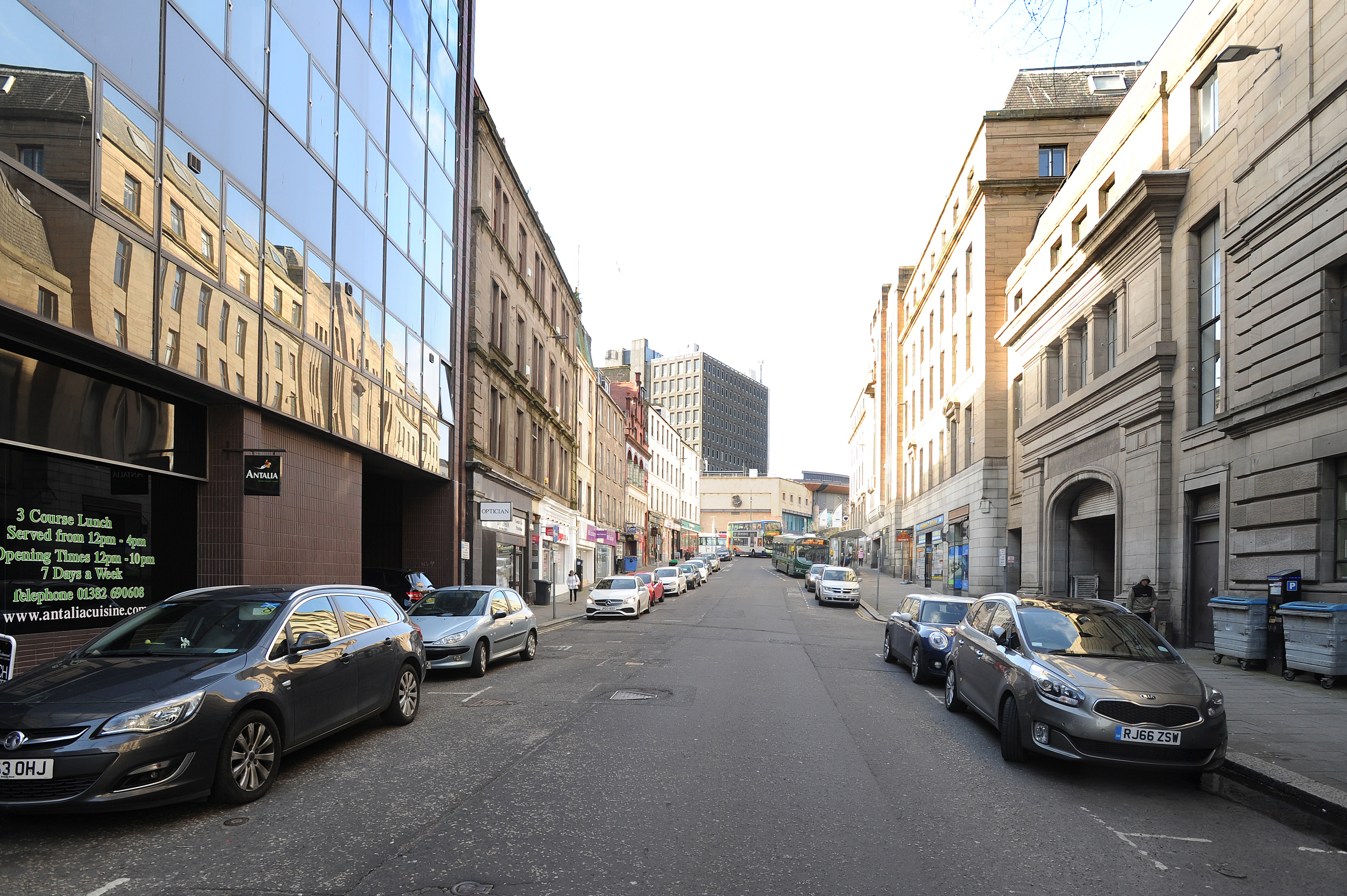 Crichton Street will be among the streets closed for resurfacing work in April.