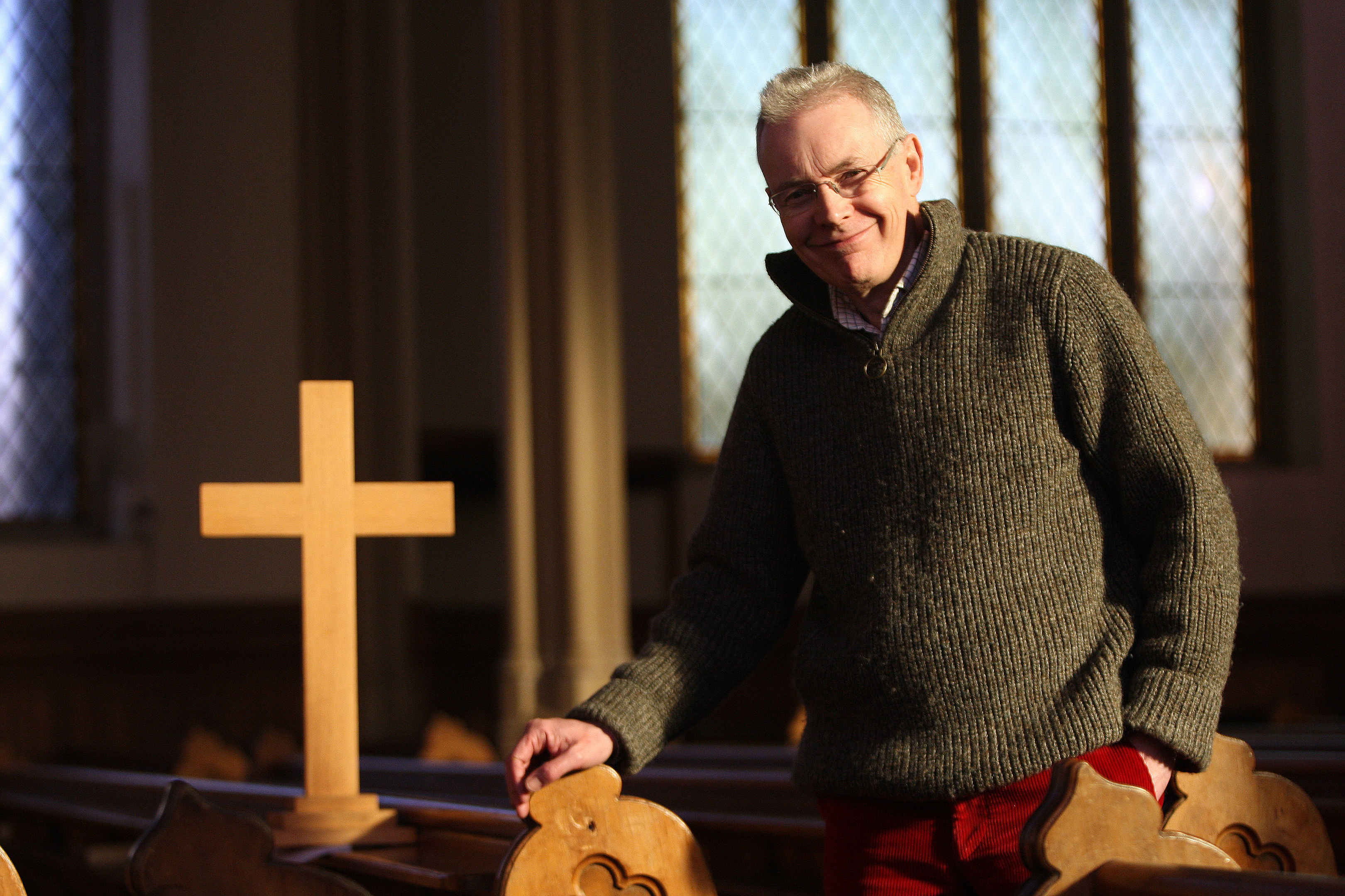 Mr Sharp feels churches throughout Scotland have to evolve.