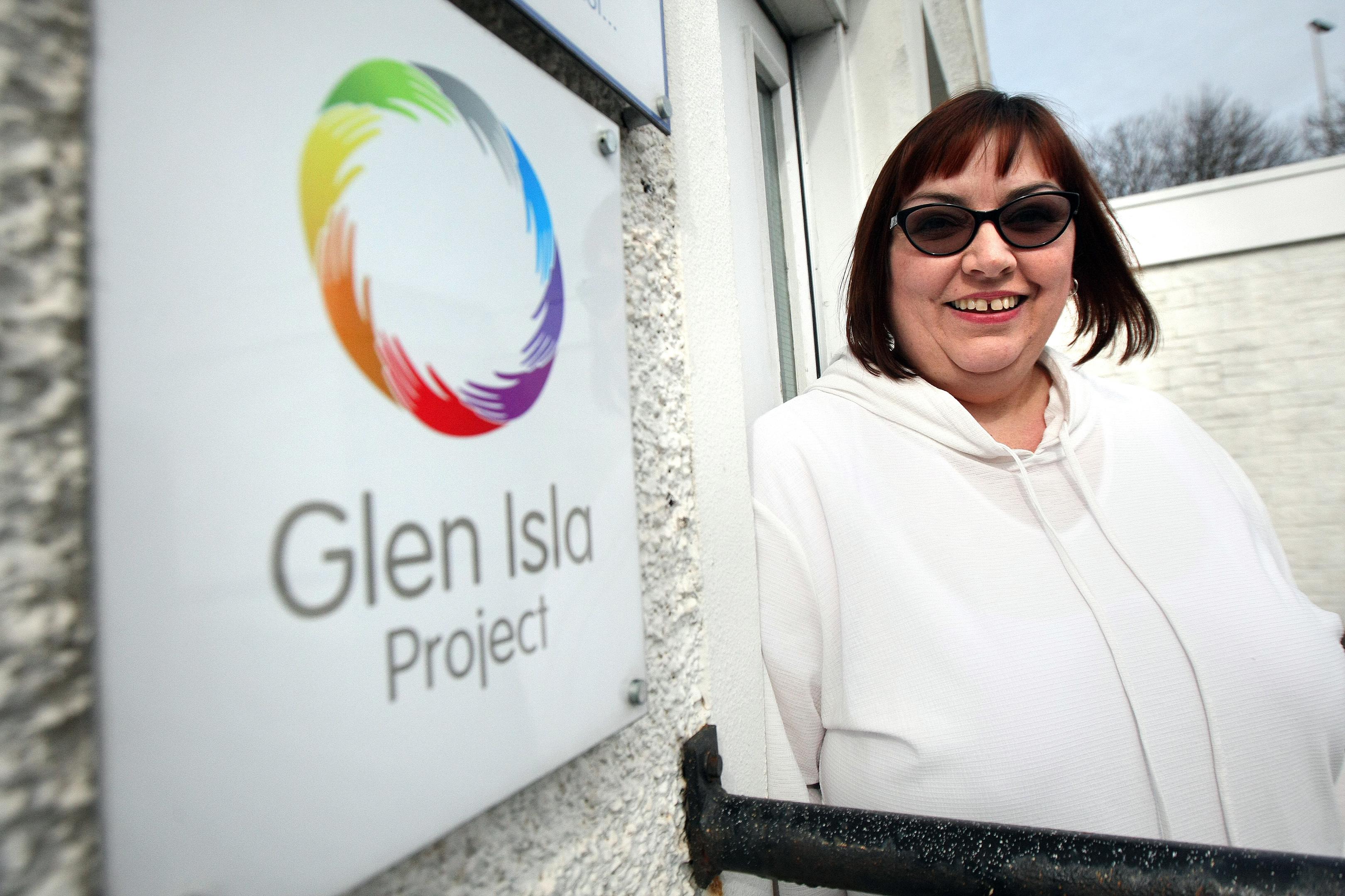 The Glen Isla Project's deputy manager Lynne Robertson.
