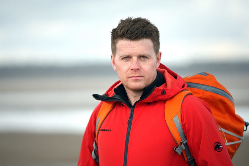 Rhys Rowlands, head of outdoor pursuits at Fettes College.
